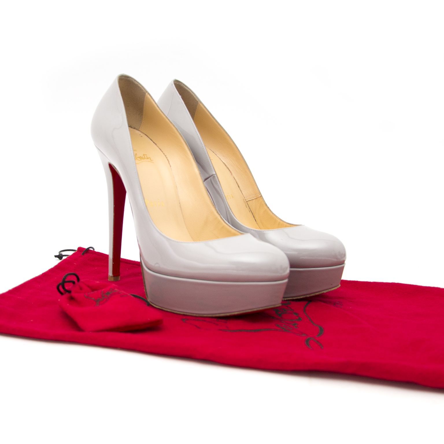 Louboutin Bianca 140 Patent Calf Pumps at the best price 2017