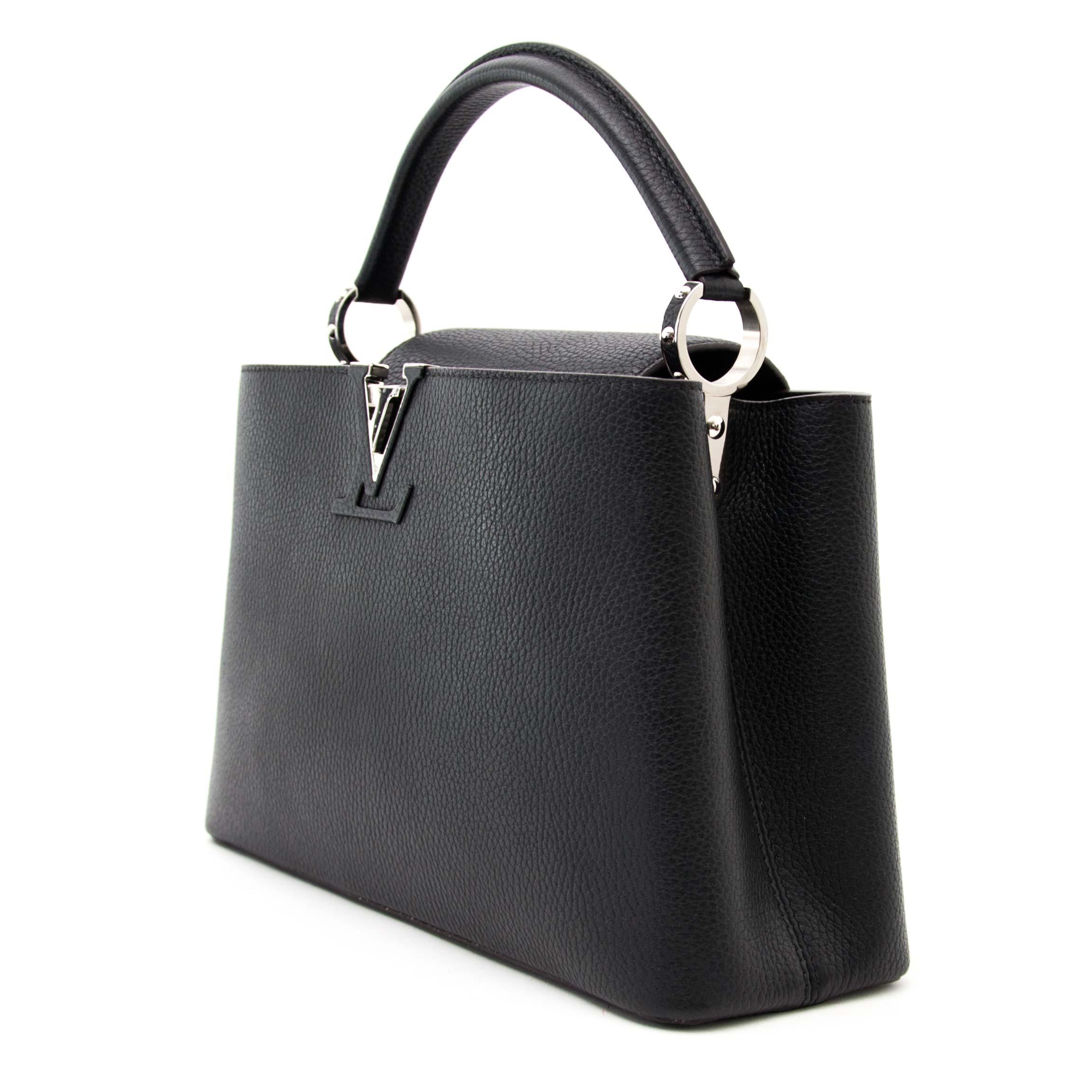 3832e6c68dd02 ... Shop veilig online bij labellov.com tegen de beste prijs Louis Vuitton  Capucine PM Taurillon