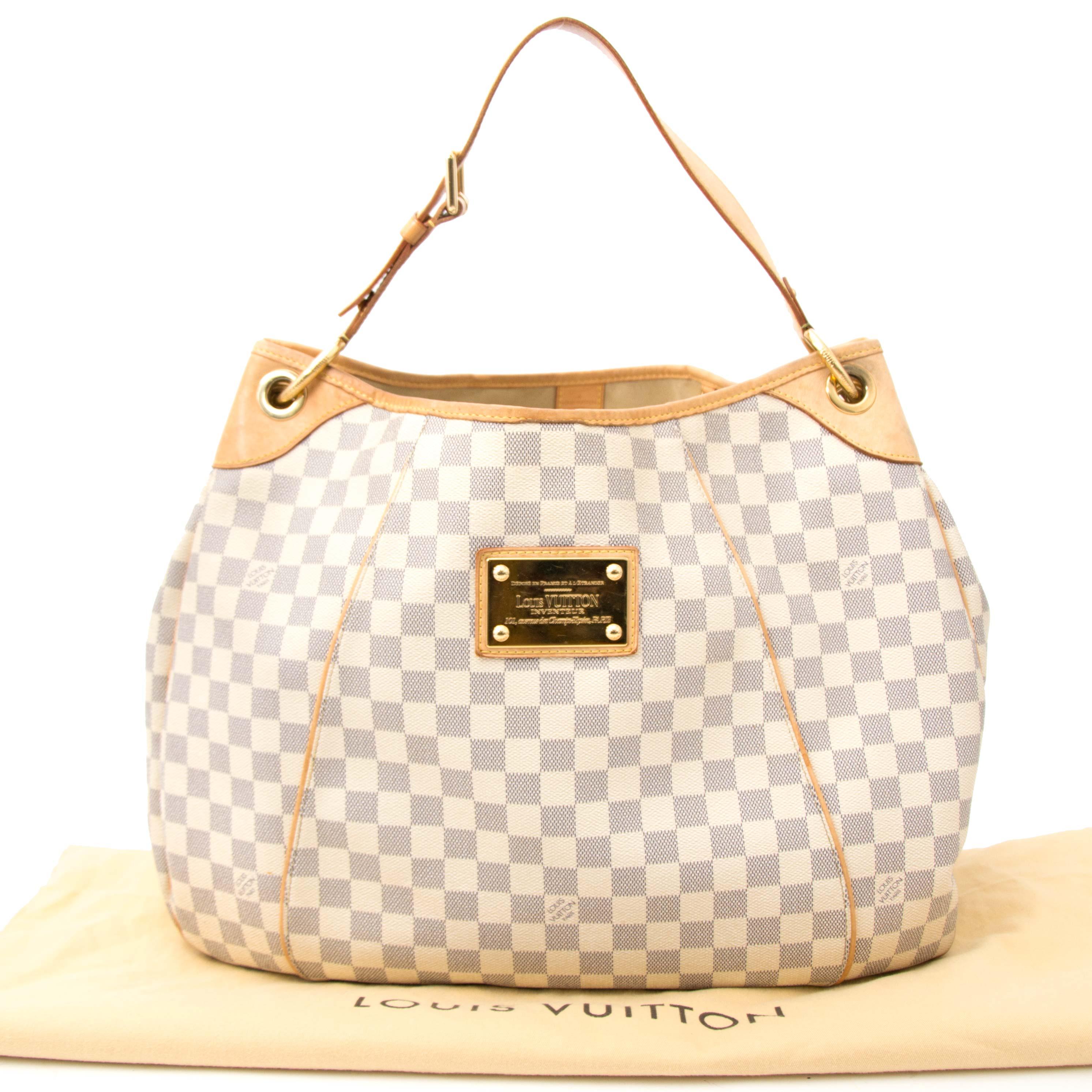 acheter en ligne pour le meilleur prix Louis Vuitton Azur Galliera GM Hobo Bag