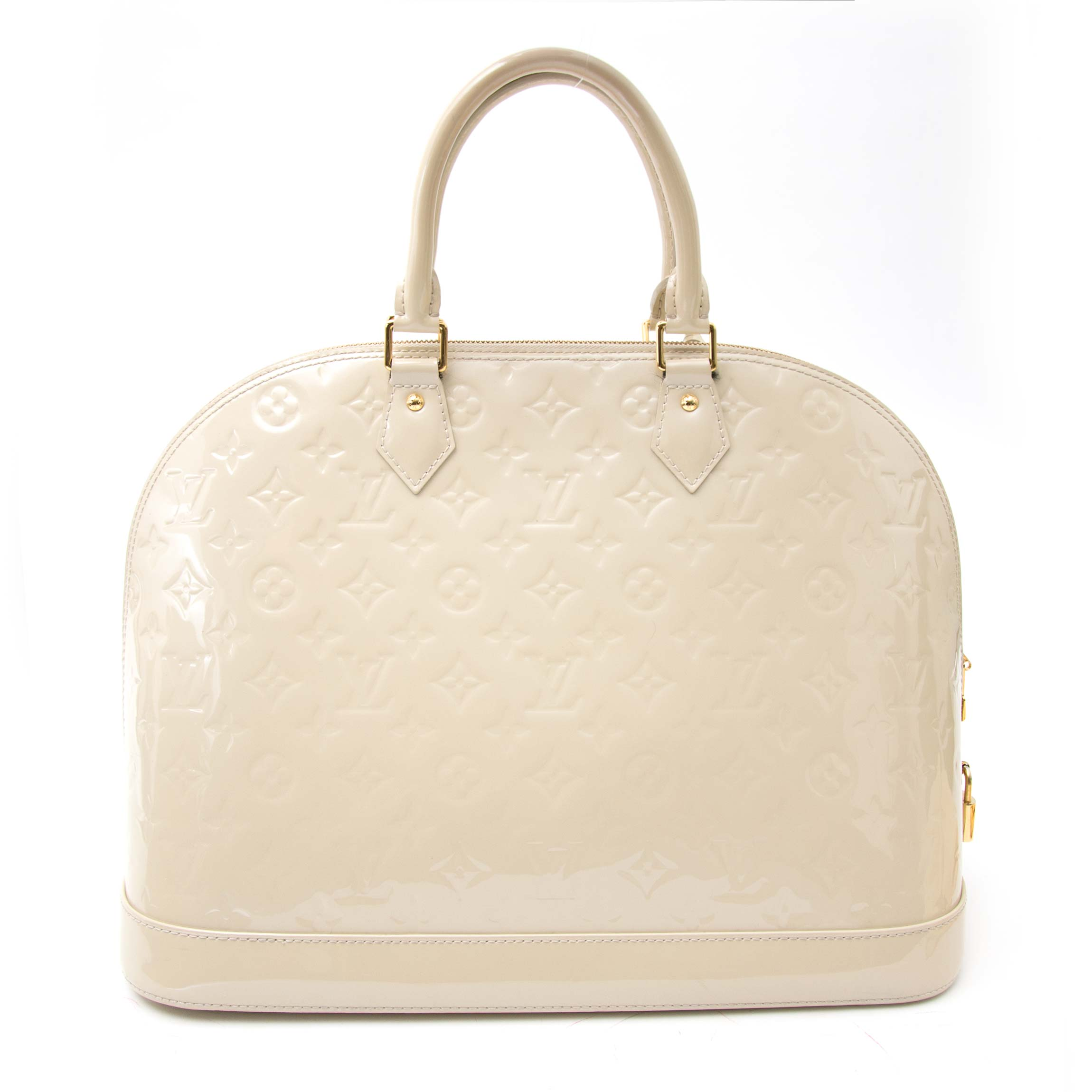 Shop the Louis Vuitton Alma Vernis right now www.labellov.com, the practical everyday bag, Labellov ships worldwide.