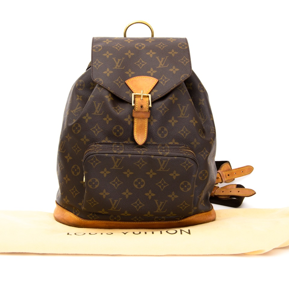 ... shop safe online at the best price Louis Vuitton Montsouris Backpack  like new e31d00fac3