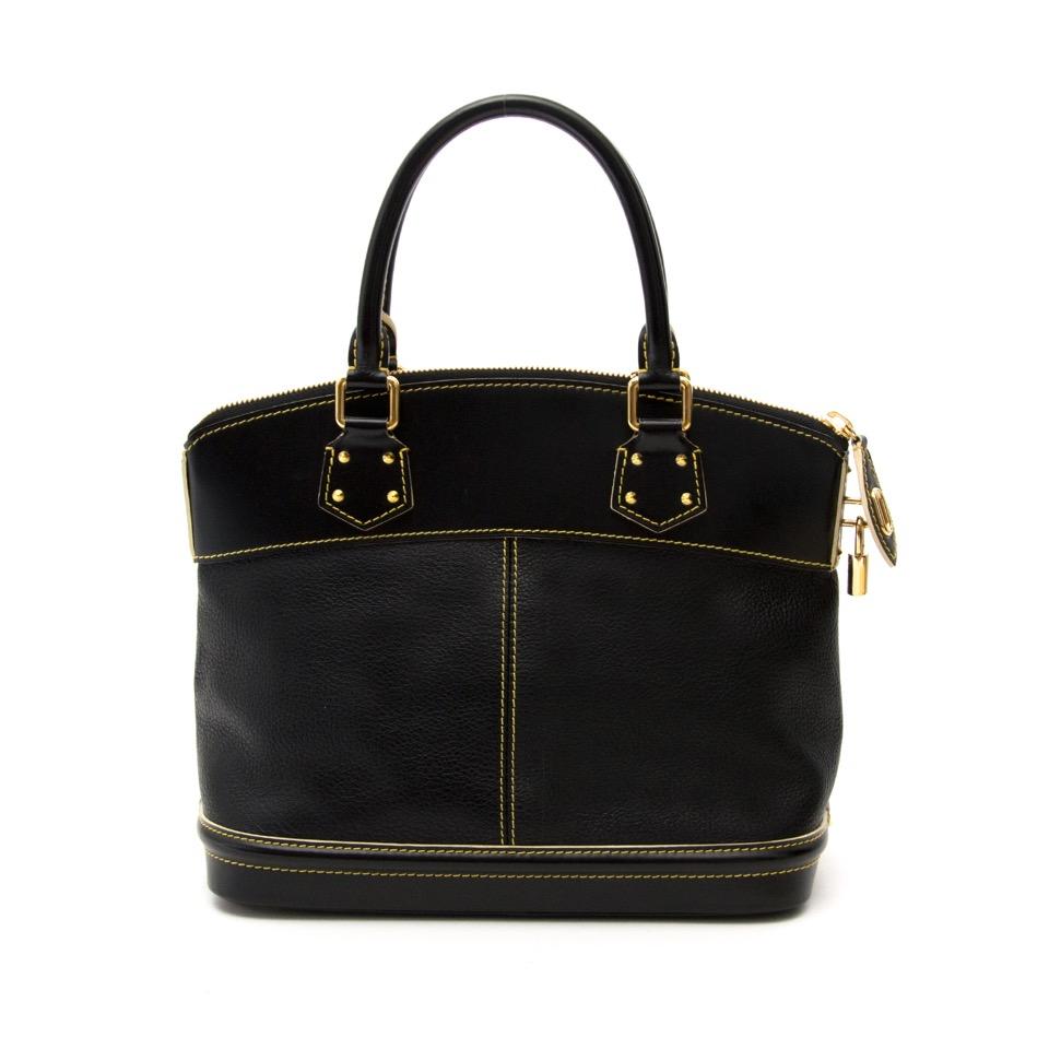 761b04c1ccb2 ... Louis Vuitton Suhali Lockit PM Noir aan de beste prijs bij Labellov  Antwerpen