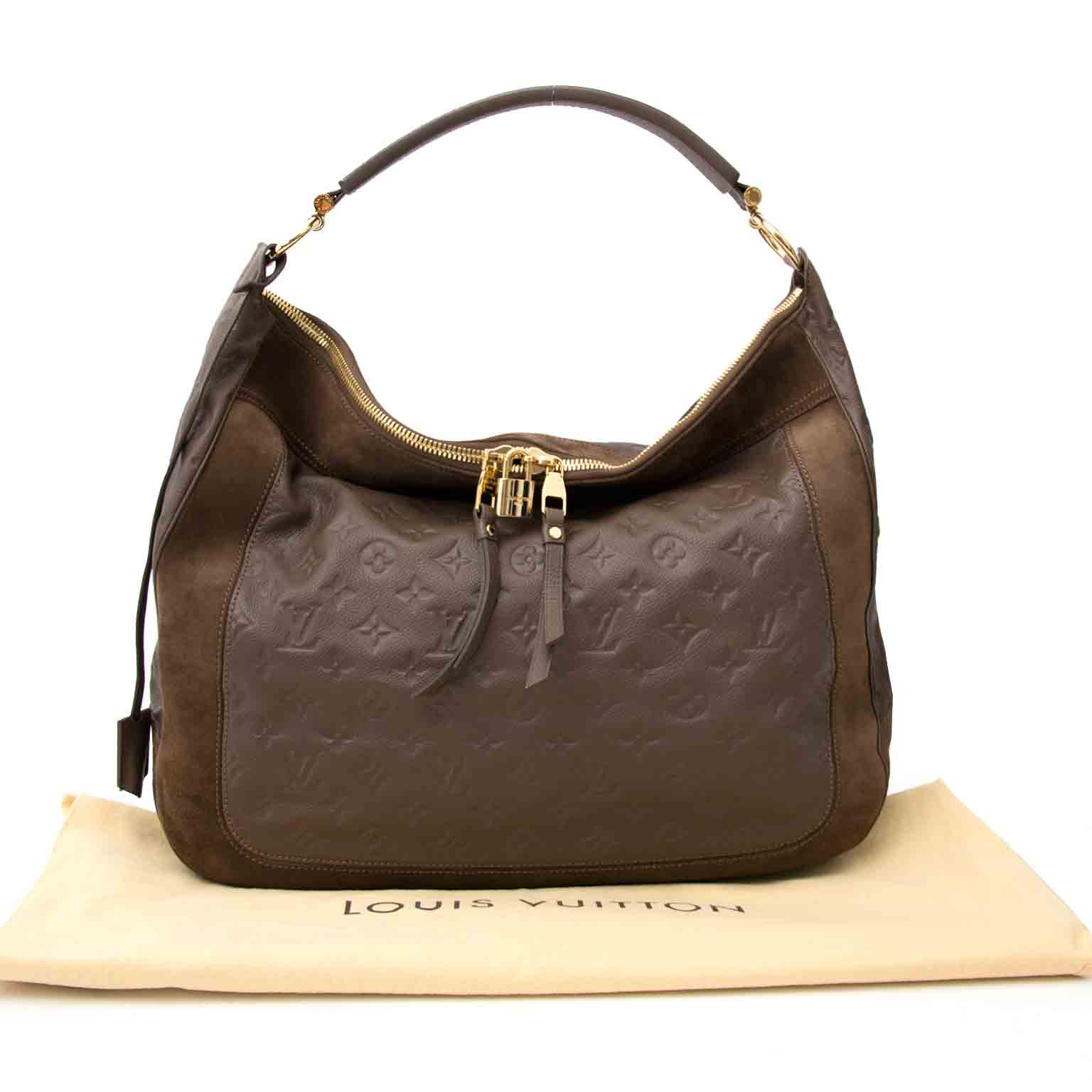 Acheter en ligne chez Labellov.com Louis Vuitton Brown Audacieuse Empreinte  GM Bag 696125cf969ee