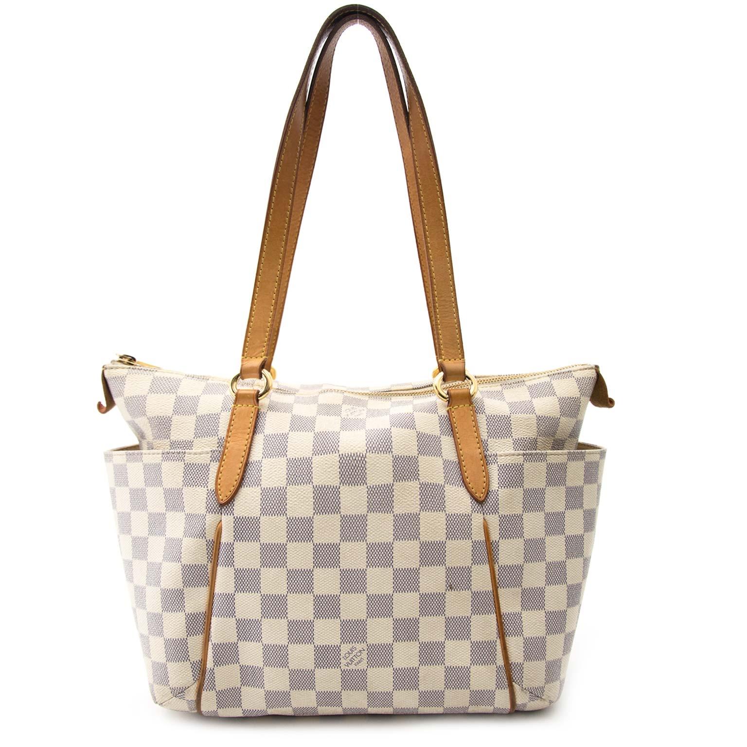 Louis Vuitton Damier Azur Tottaly Pm Tote  koop veilig online tegen de beste prijs