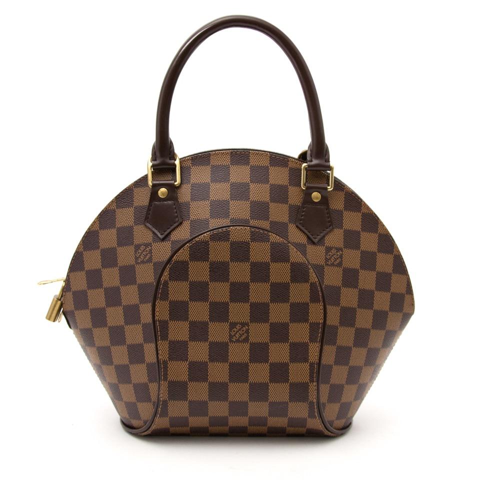 Achetez maintenant le sac Louis Vuitton Damier Ebene en ligne www.labellov.com, seconde main et luxe vintage.