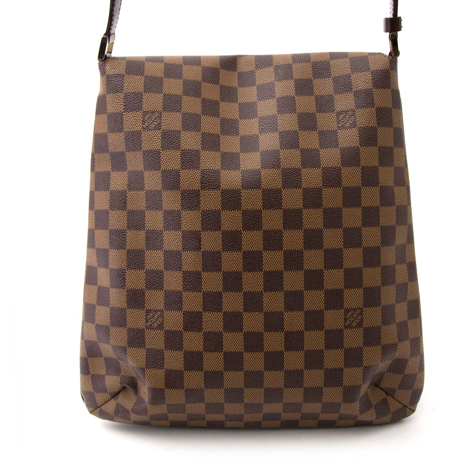 Bent u op zoek naar een authentieke designer handtas zoals Louis Vuitton Musette Salsa Damier Bag?