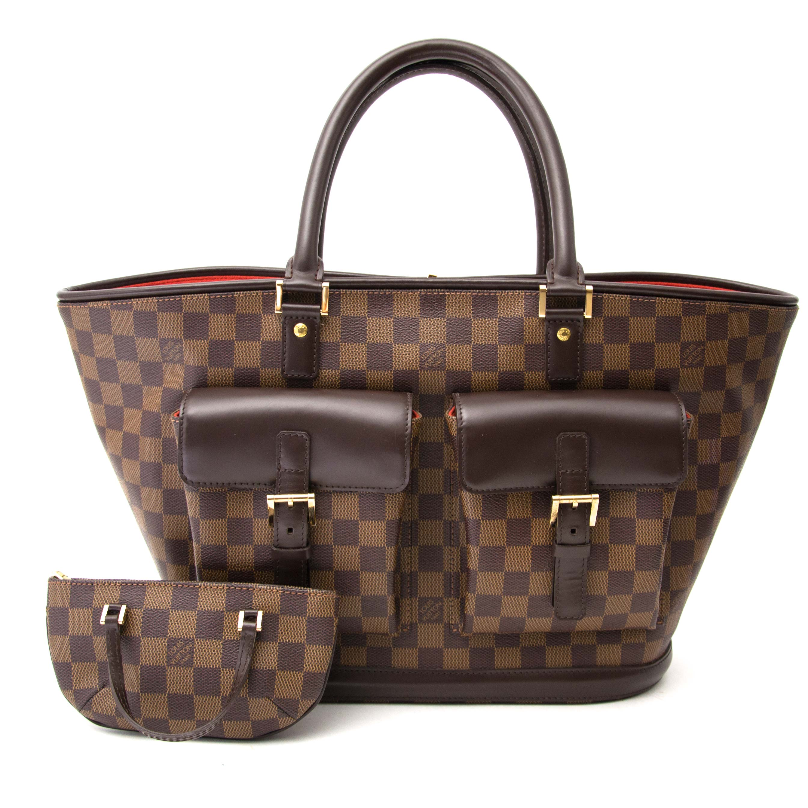shop safe and secure online at labellov.com for the best price  louis vuitton damier shopping tote