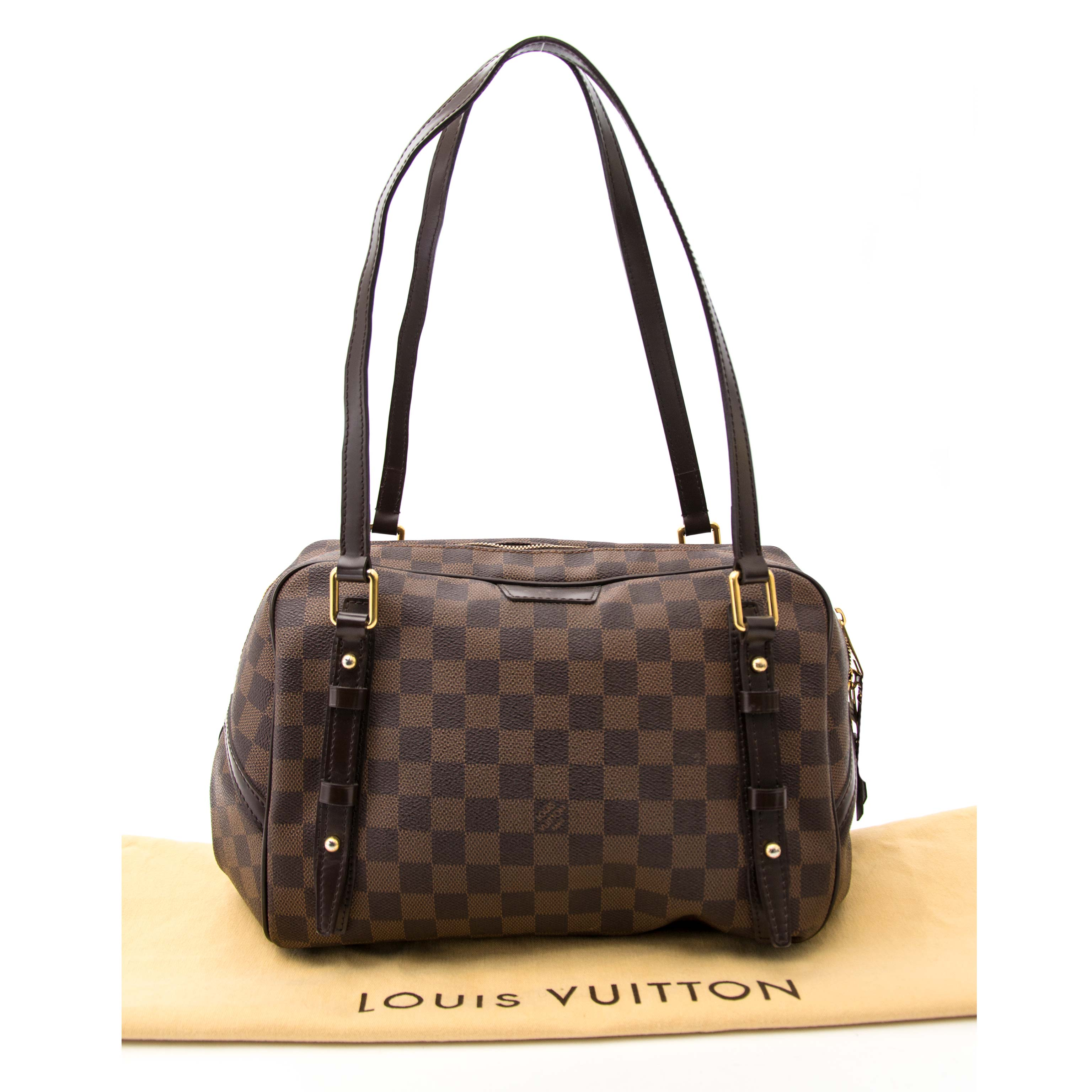koop veilig online aan de beste prijs  Vuitton Damier Canvas Rivington GM Bag