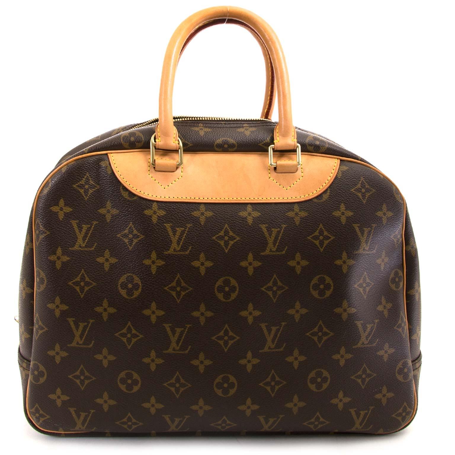 e2c9bcc80ddc ... achetez Louis Vuitton Monogram Deauville chez labellov pour le meilleur  prix