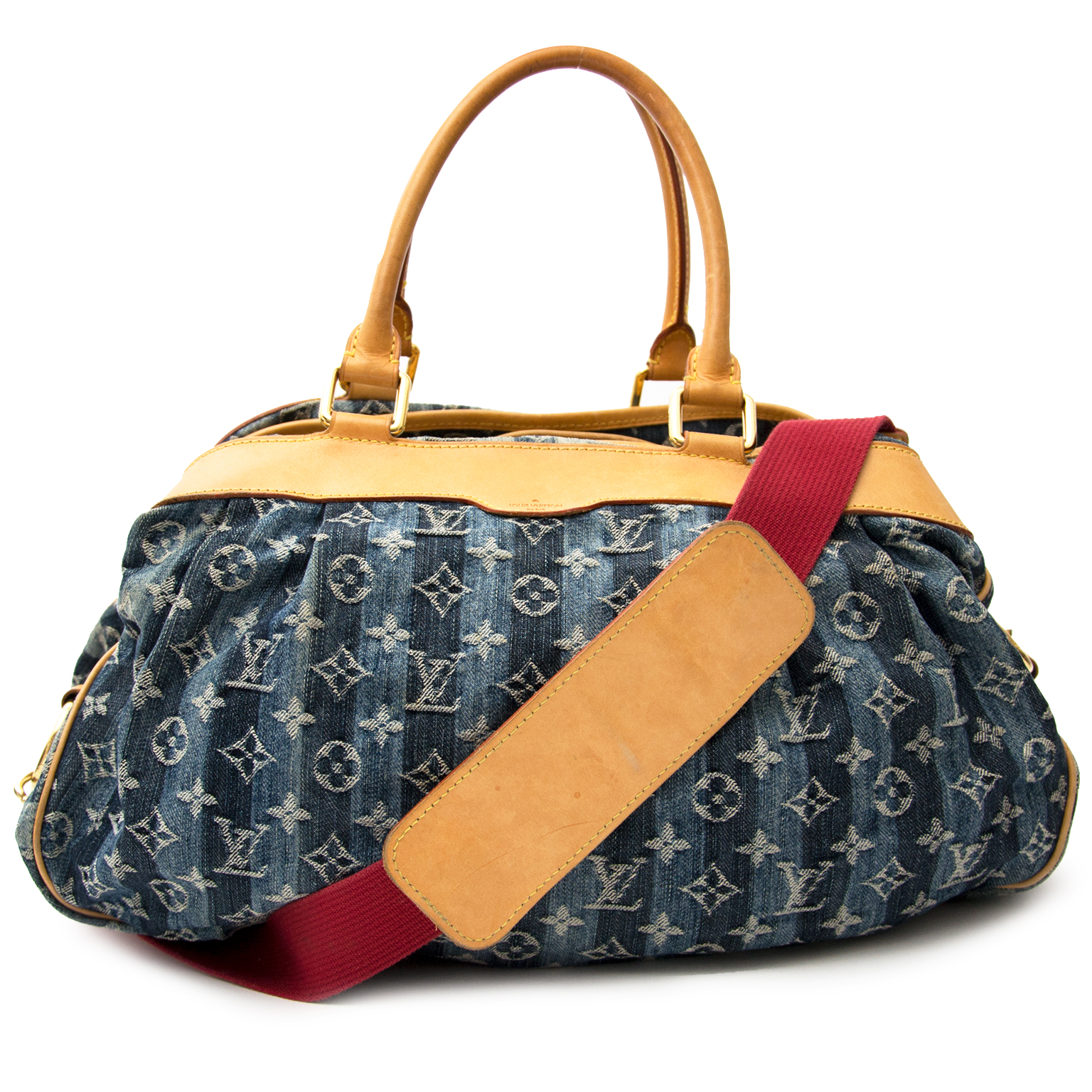 ... Labellov luxury Louis Vuitton Denim Cruise Cabas Raye GM luxe merken  winkelen Antwerpen e9fc991517161