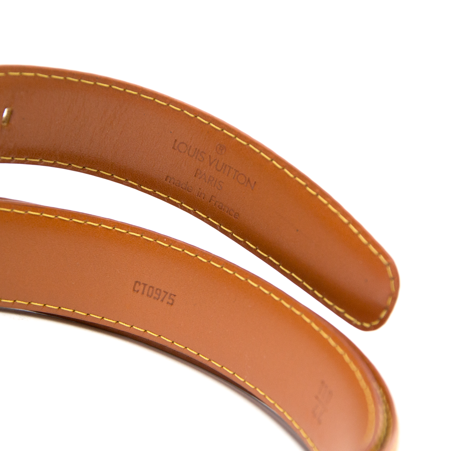 shop safe online Louis Vuittin Cognac Alma Belt - Size 75 at the best price Louis Vuittin Cognac Alma Belt - Size 75