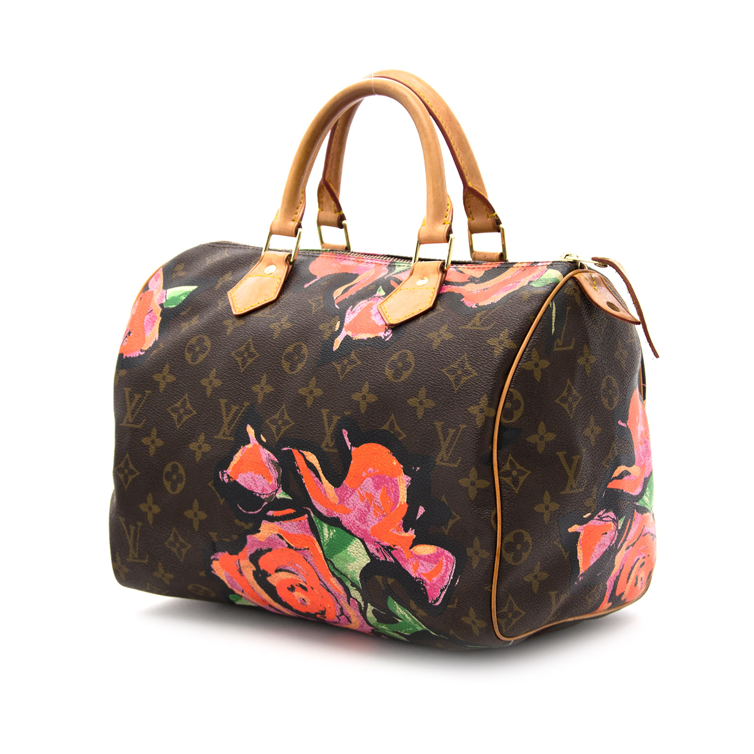 3f8224a05 Luxe, shop safe online your secondhand luxury Louis Vuitton Speedy 30  Limited Edition Roses Bag Brillant Bag