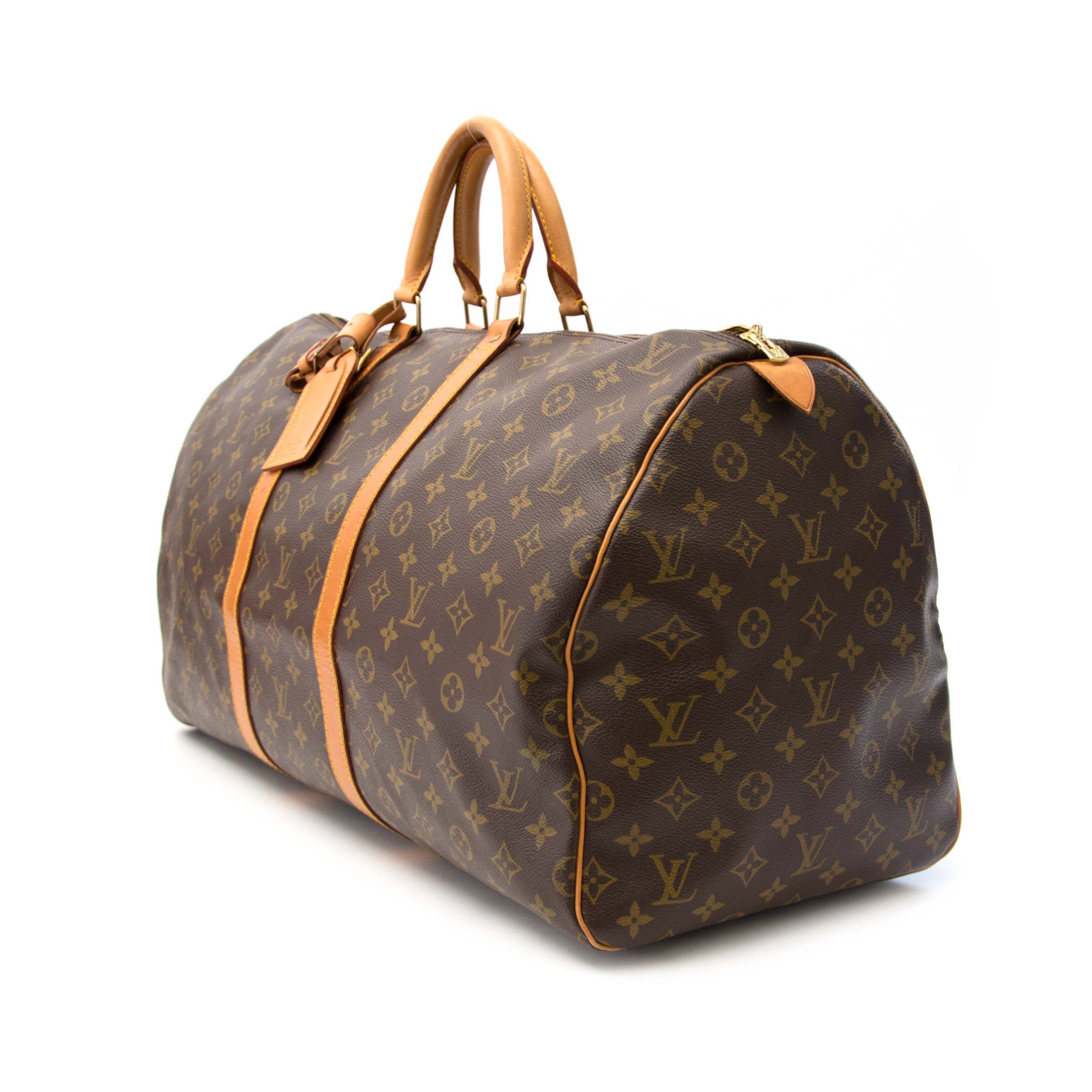 d687aec376f3 Secondhand Louis Vuitton Keepall 55 online for sale Buy safe and online secondhand  Louis Vuitton Keepall 55