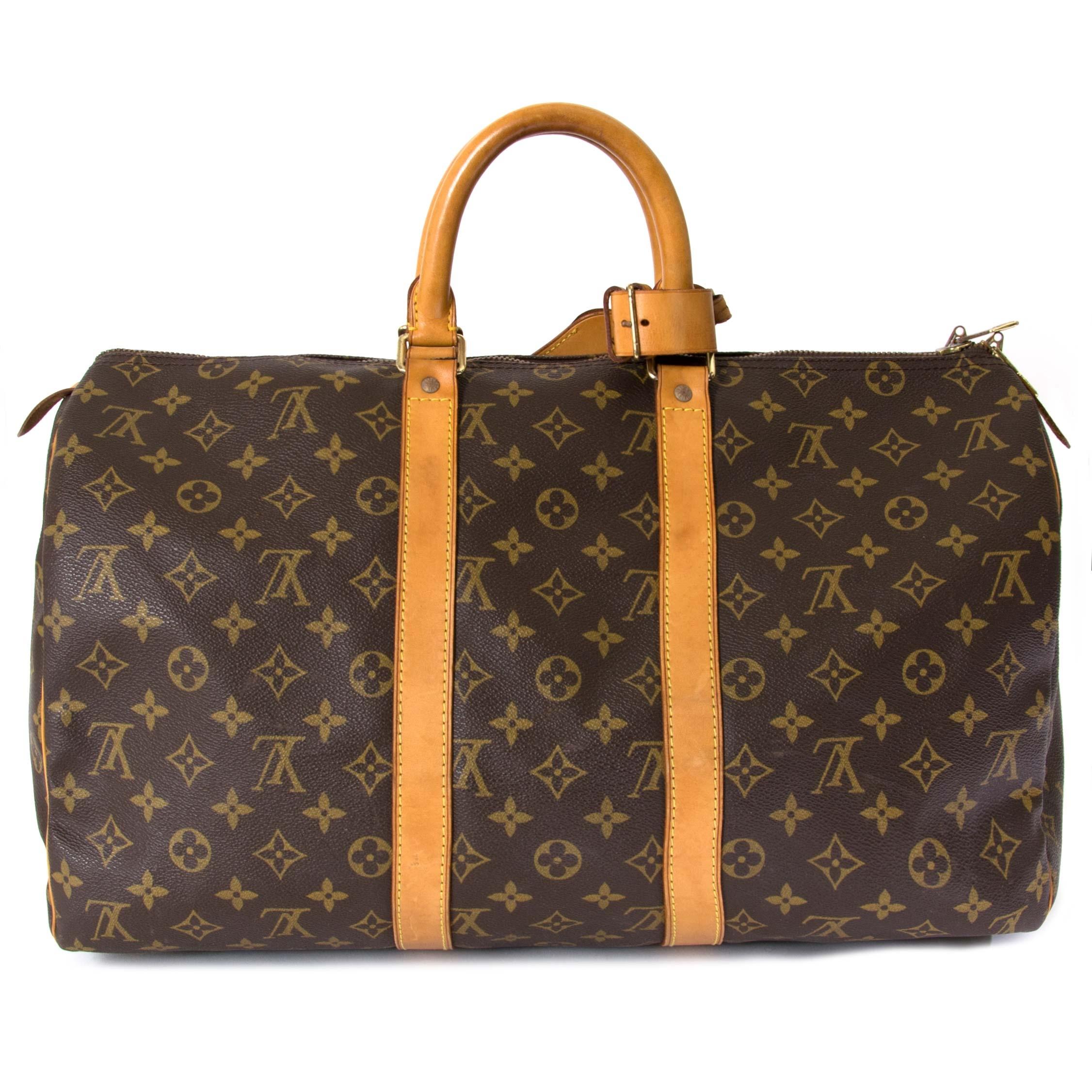 fc6870ce7cb4 ... koop Louis Vuitton Monogram Keepall 45 bij labellov aan de beste prijs