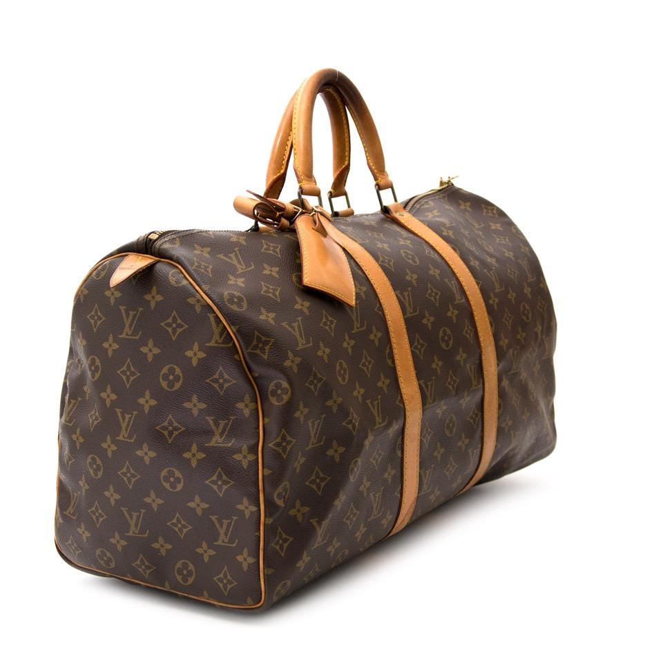koop veilig online aan de beste prijs Louis Vuitton Vintage Keepall 50