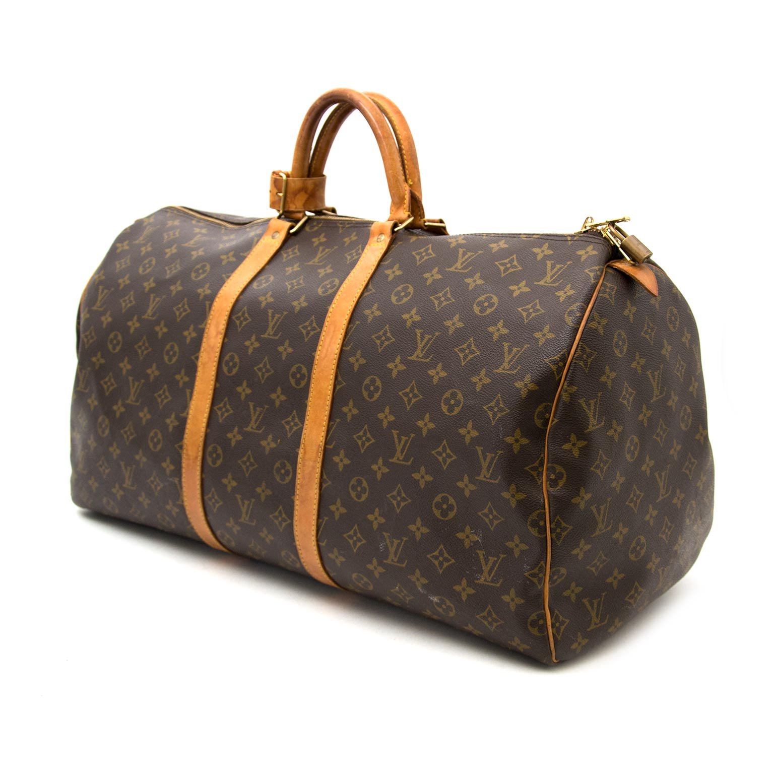 Buy safe and secure online at labellov.com for the best price louis vuitton keepall monogam 55