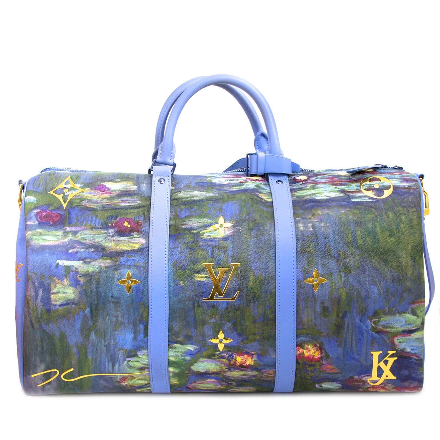 louis vuitton monet keepall 50 now for sale at labellov vintage fashion webshop belgium