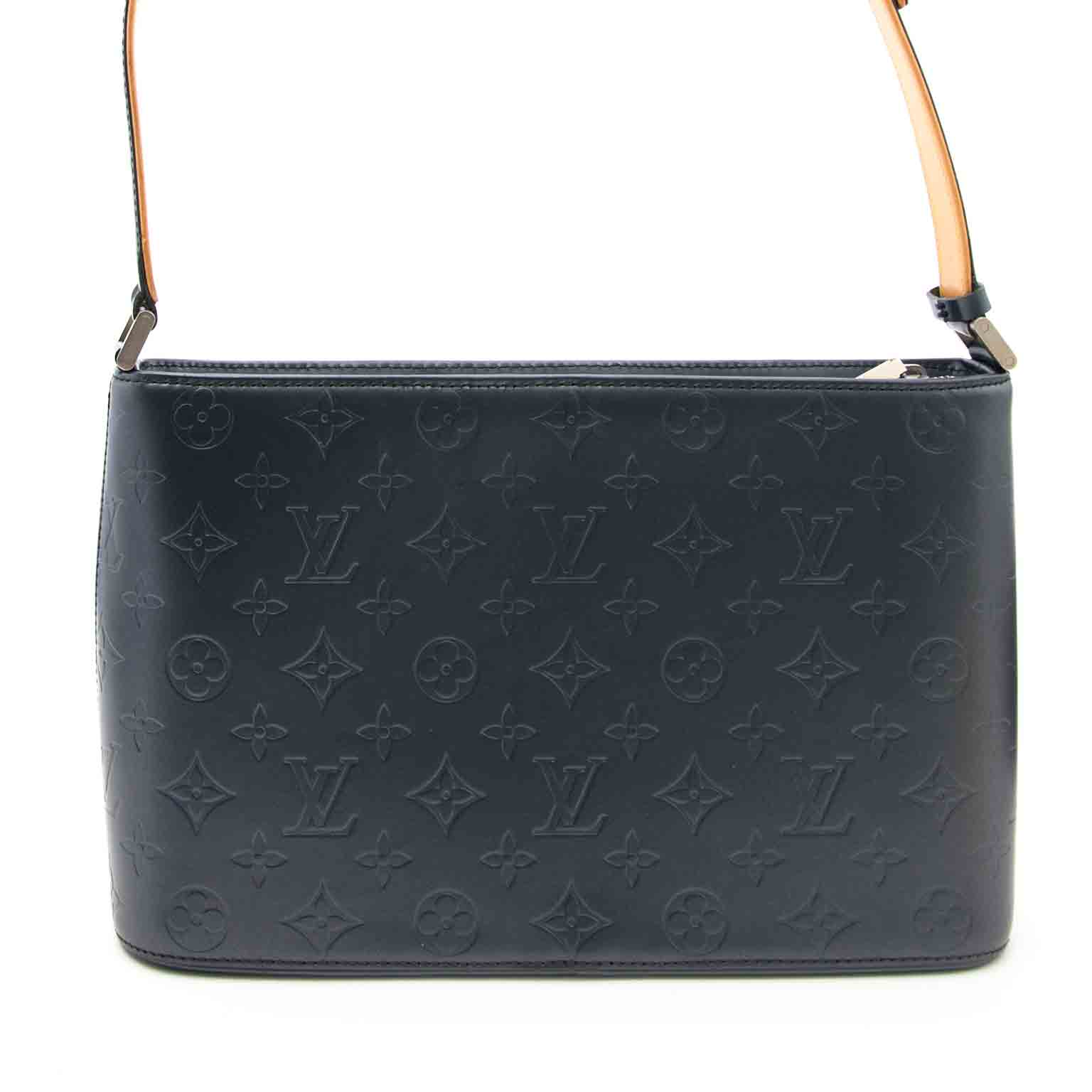 Louis Vuitton Metalgun Monogram Mat Alston Bag at a reasonable price for sale with worldwide shipping, musthave bag and from a beautiful brand Louis Vuitton, perfect condition.