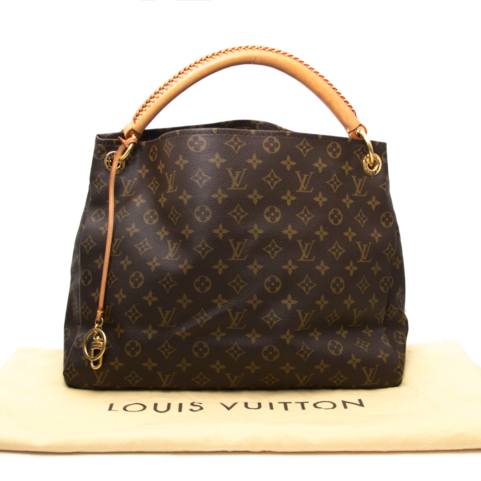 comme neuf sac a main Louis Vuitton Monogram Artsy MM Top Handle Bag
