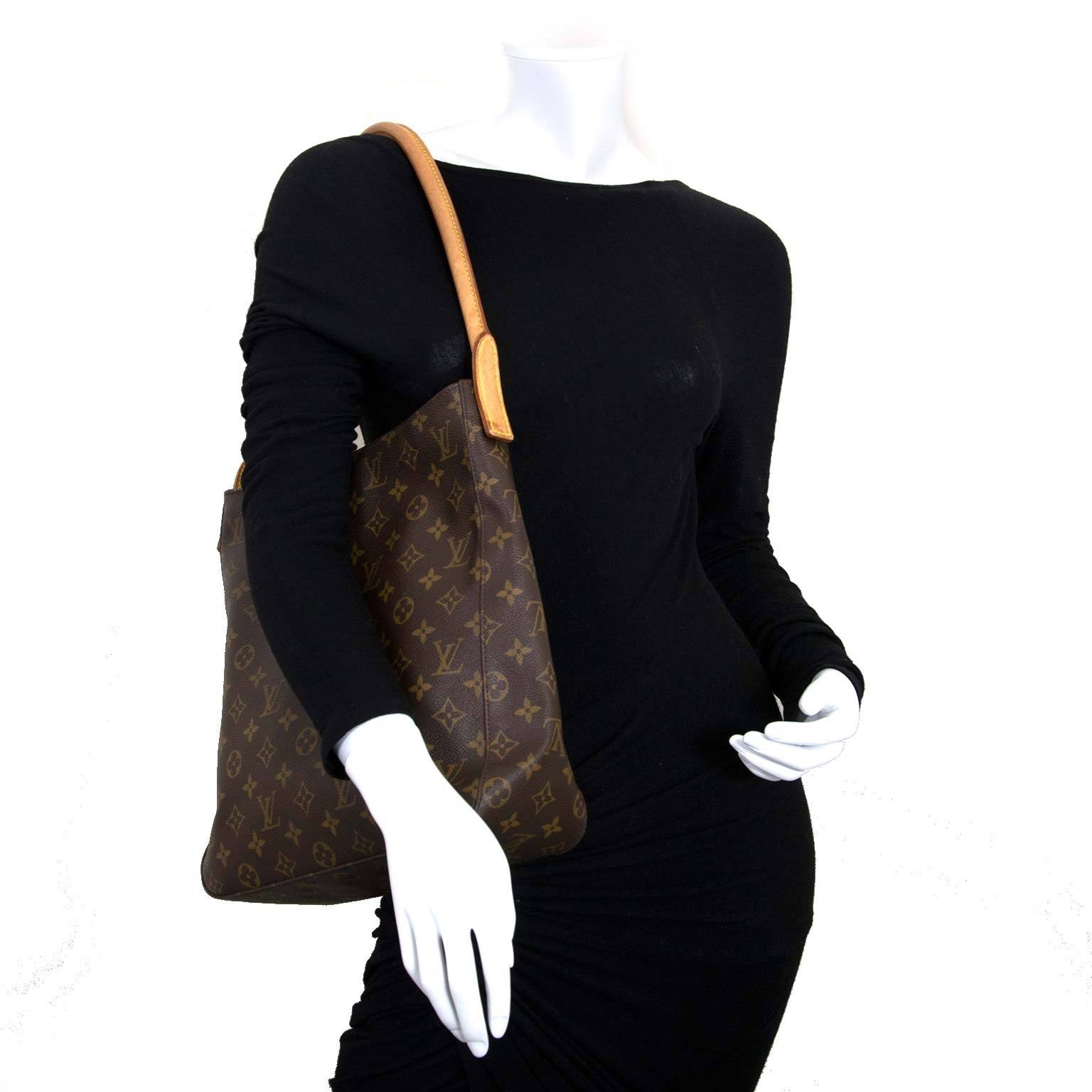 422a31fc7f35 ... louis vuitton monogram looping gm bag now for sale at labellov vintage  fashion webshop belgium