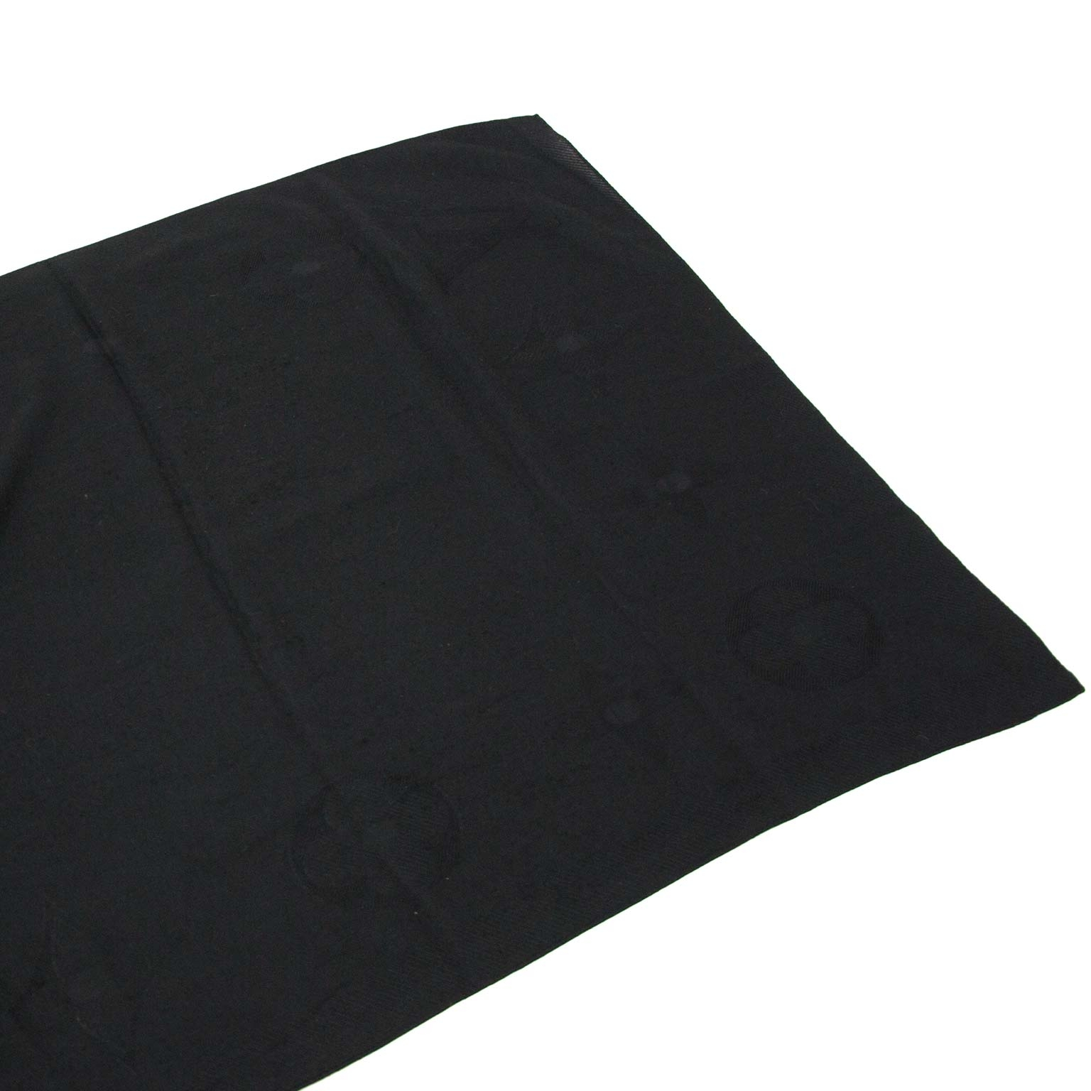 secondhand Louis Vuitton Black Cashmere Scarf for sale at labellov Antwerp