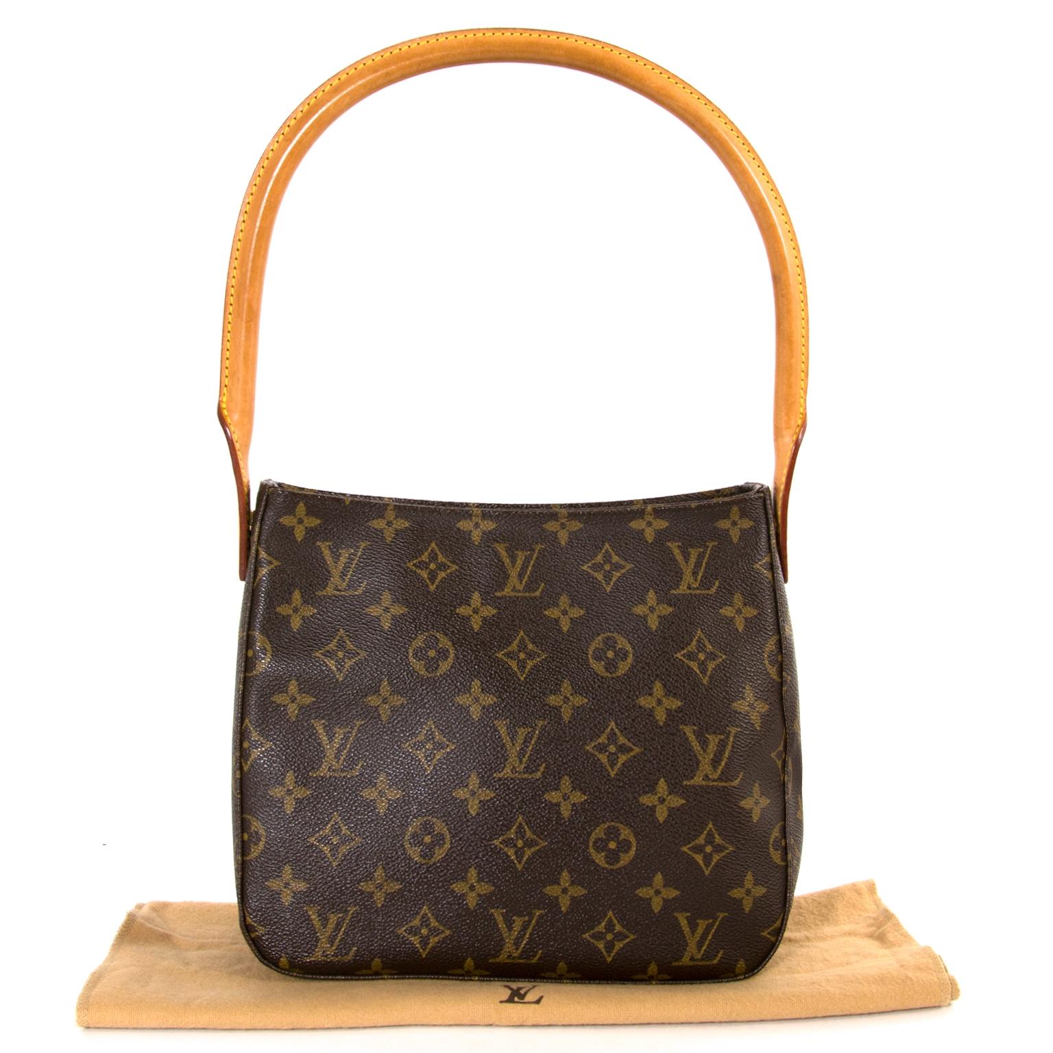 Louis Vuitton Looping Monogram Shoulder Bag now for sale at labellov vintage fashion webshop belgium