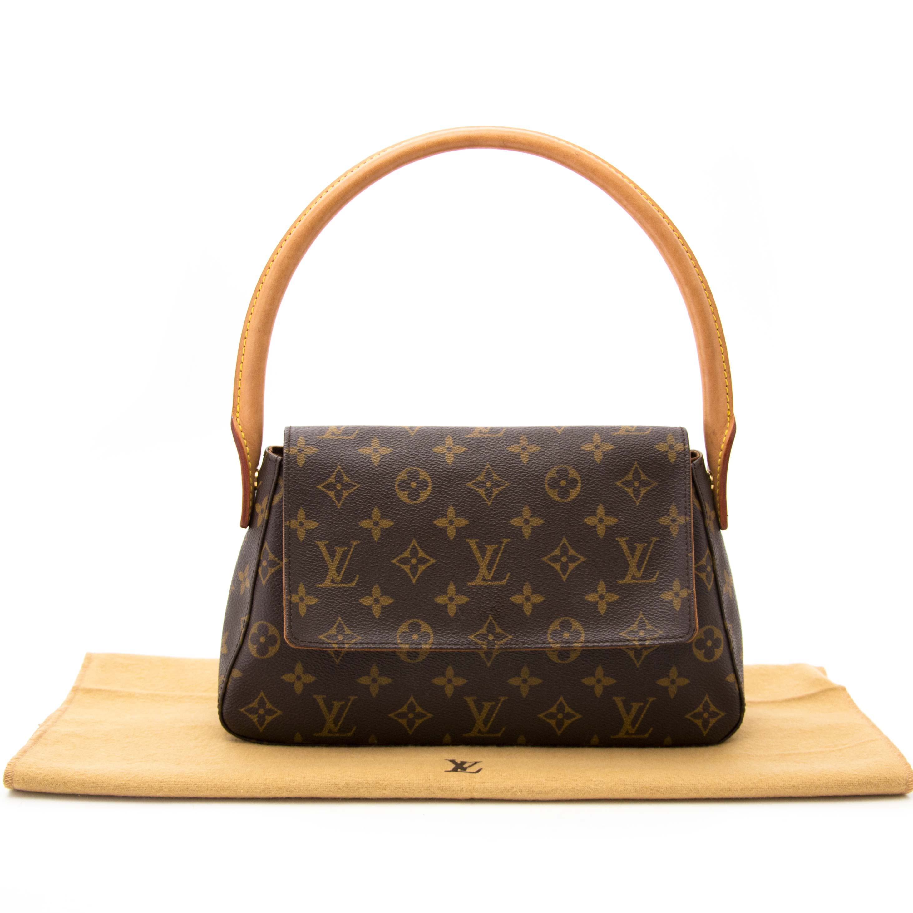 shop safe online Louis Vuitton Monogram Looping Shoulder Bag