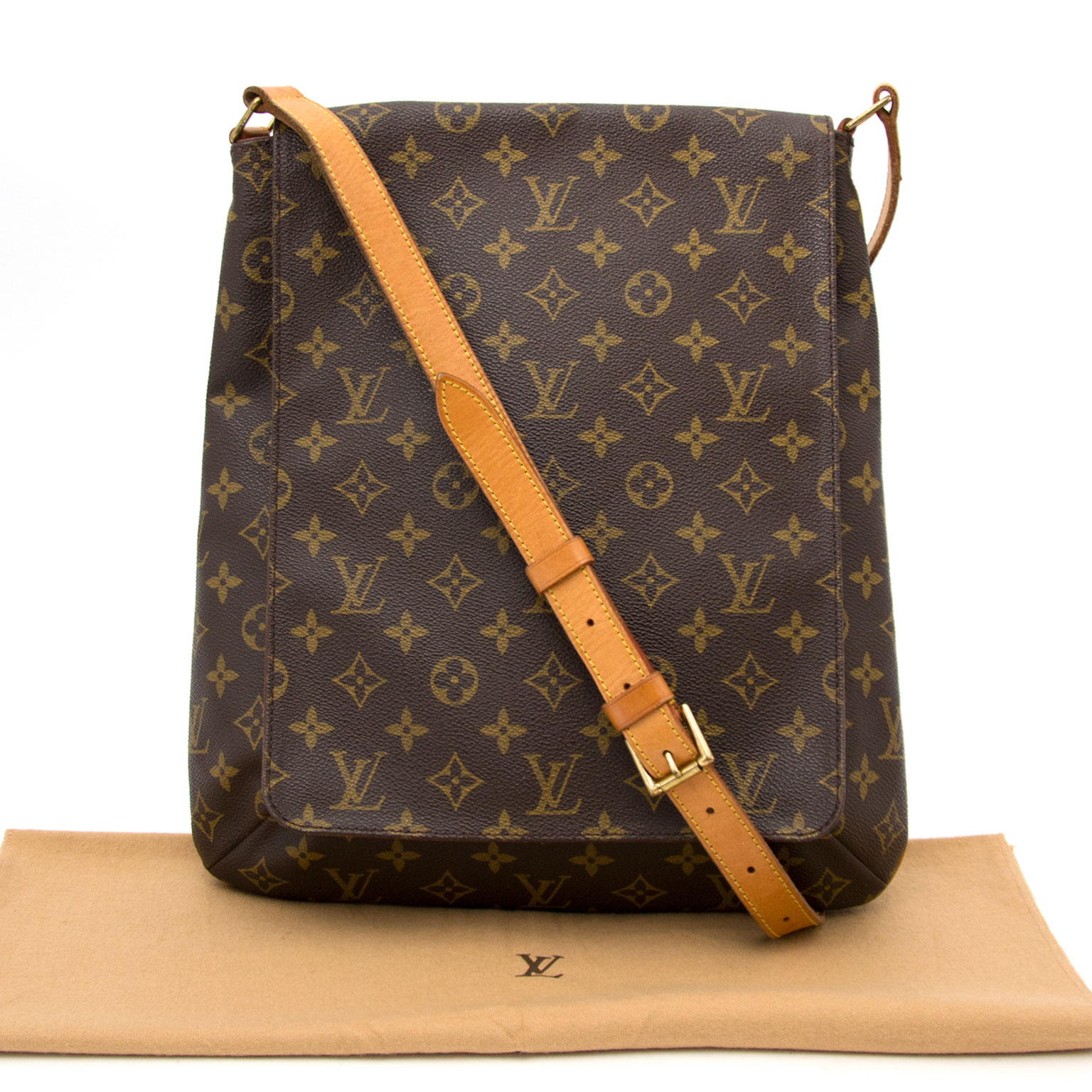 Acheter un Louis Vuitton Monogram Musette Large Messenger chez Labellov