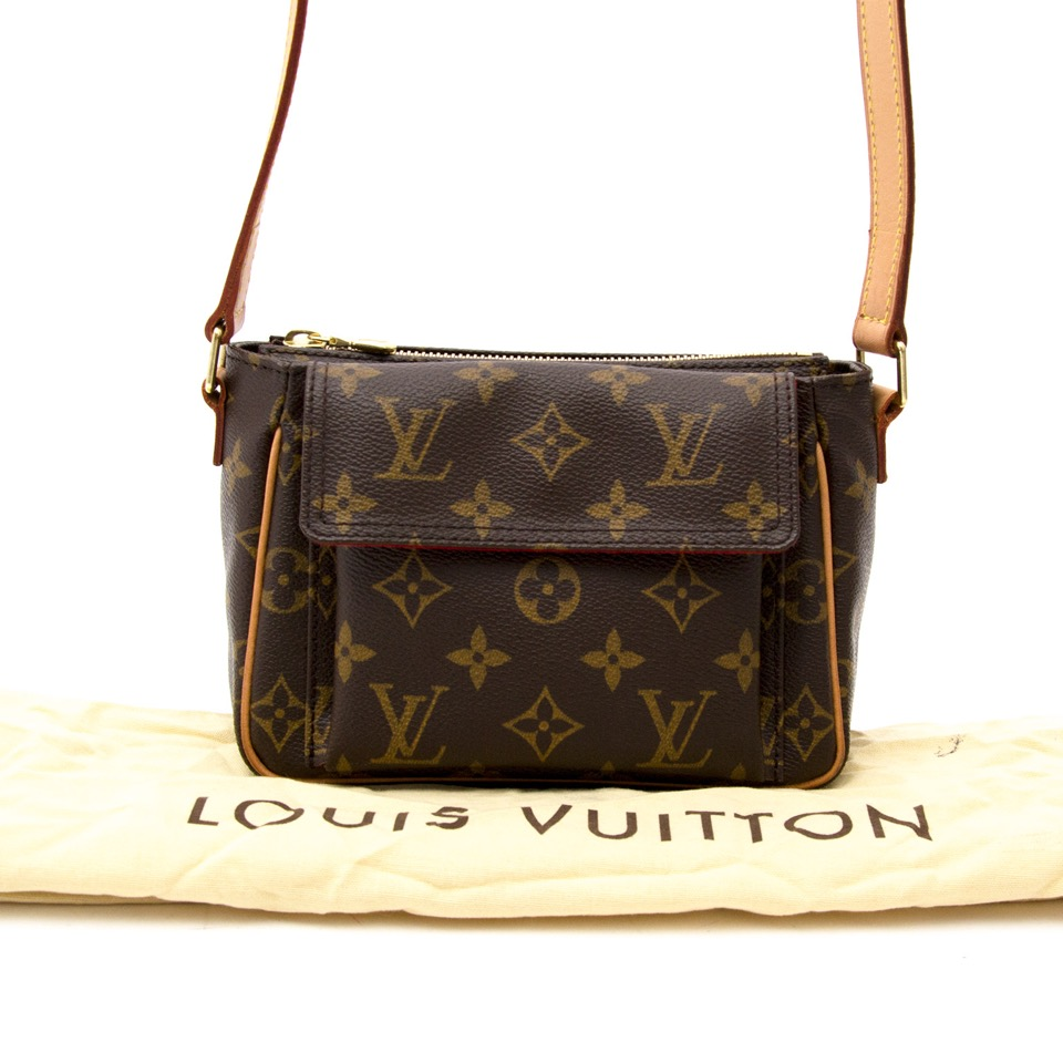 Looking for a designer handbag? We buy and sell your Louis Vuitton Monogram Canvas Viva Cite PM Bag