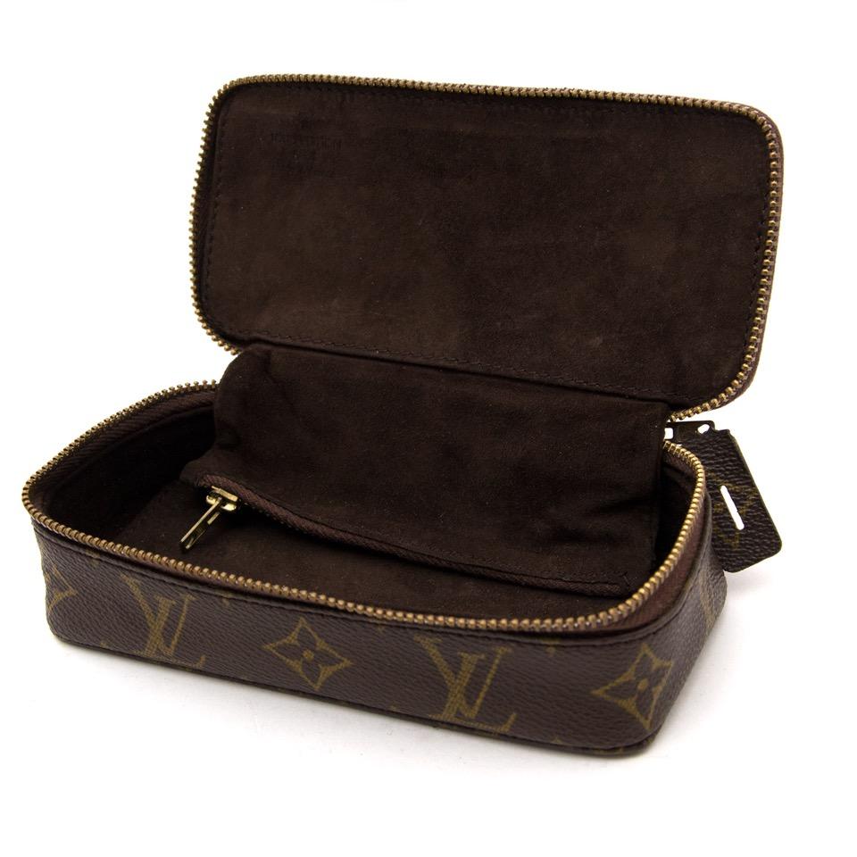 koop veilig online aan de beste prijs Louis Vuitton Monogram Pochette Bijoux