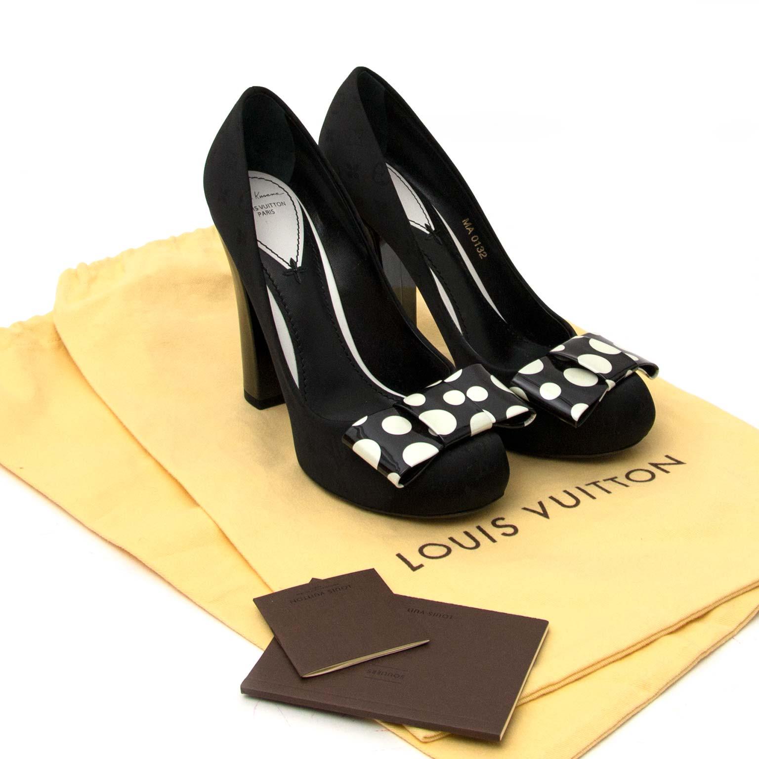 Louis Vuitton x Yayoi Kusama Polka Dot Pumps for sale online at Labellov