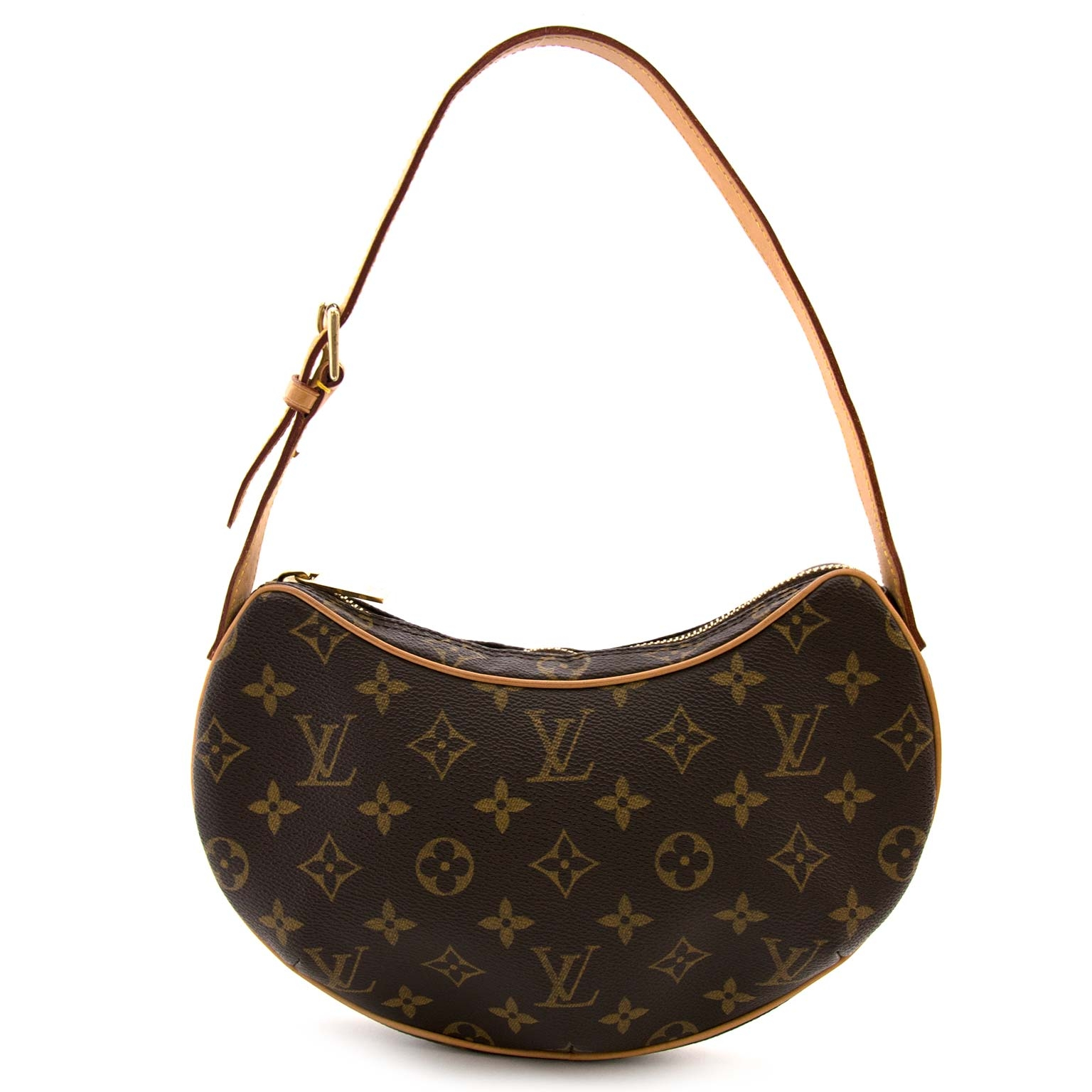 bbc74161edaf Louis Vuitton Monogram Croissant PM for sale online at Labellov Koop en  verkoop uw authentieke Louis Vuitton Monogram Croissant PM