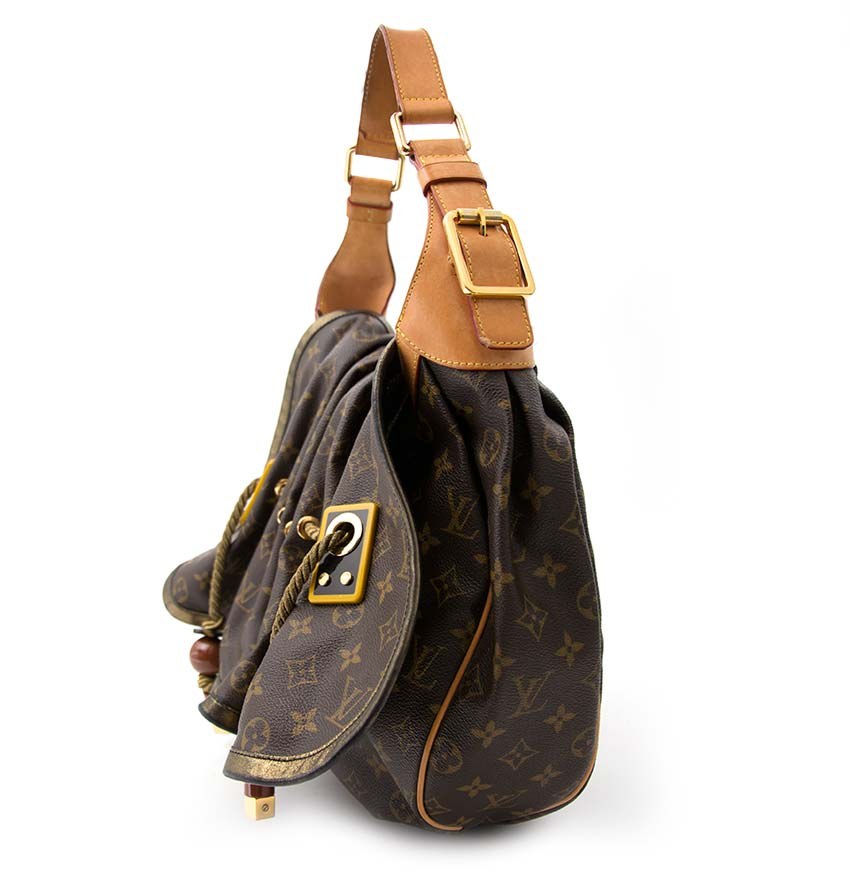 shop safe online Louis Vuitton Limited Edition Monogram Epices Kalahari GM Bag