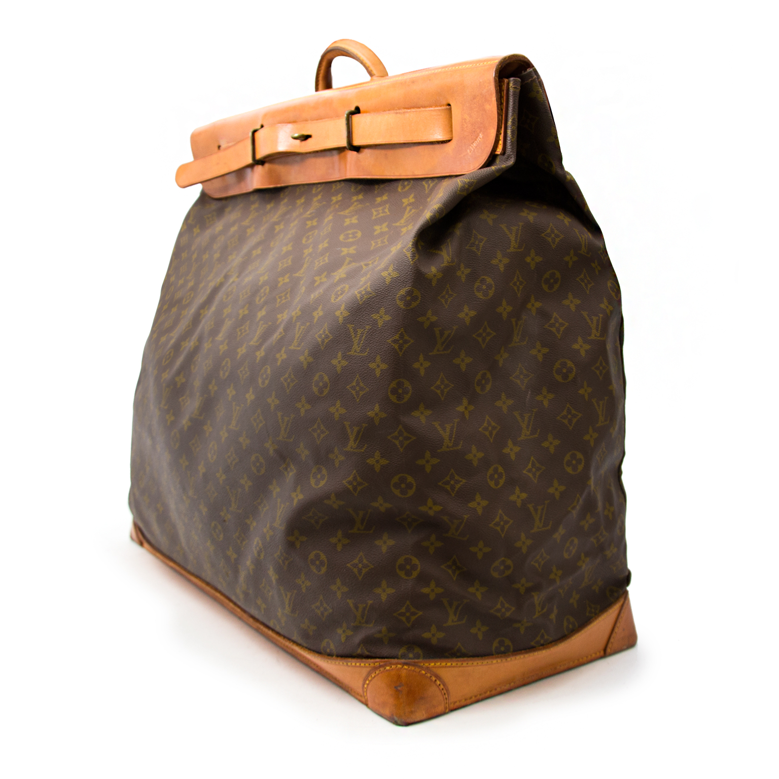 Real secondhand Louis Vuitton Steamerbag on www.labellov.com at the best price and without risk