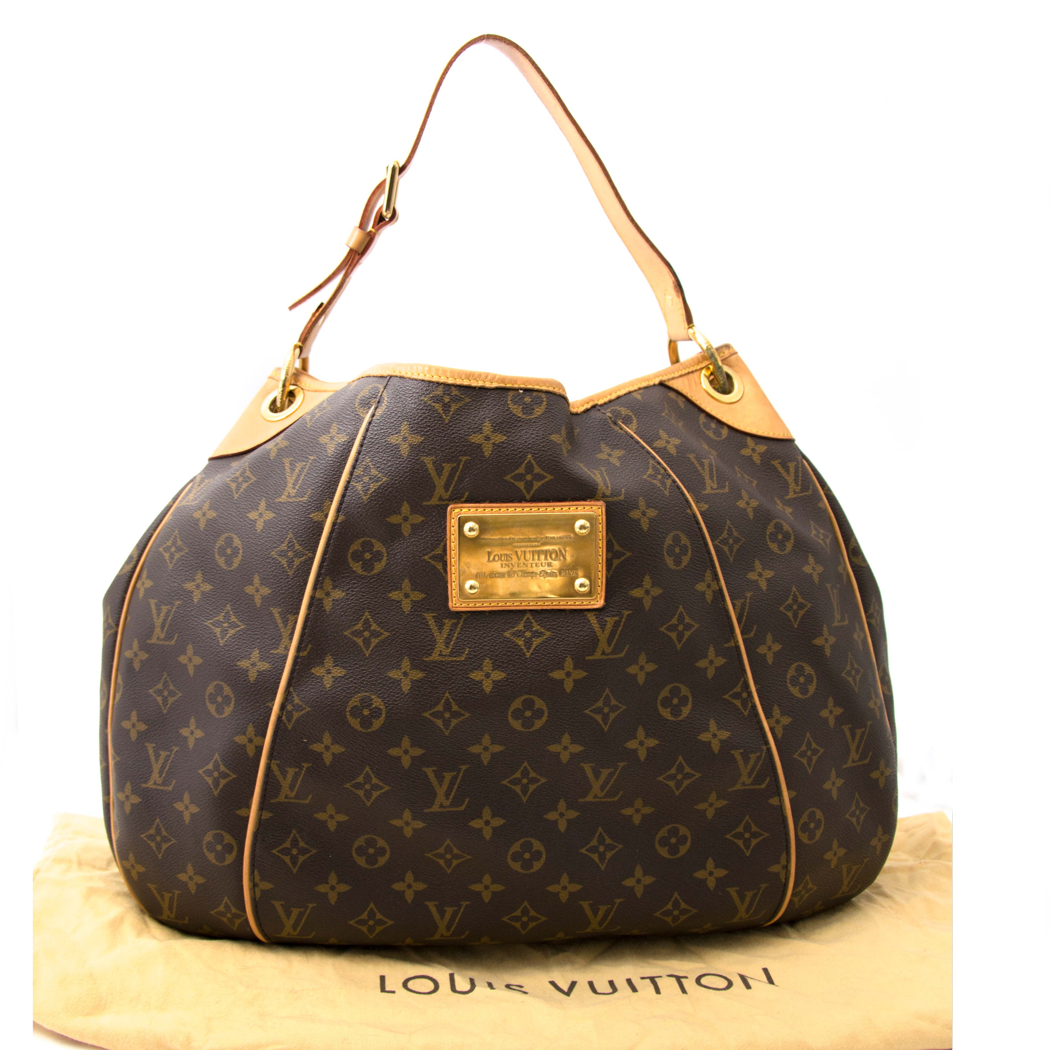 looking for a second hand Louis Vuitton Damier Galliera GM Hobo Bag