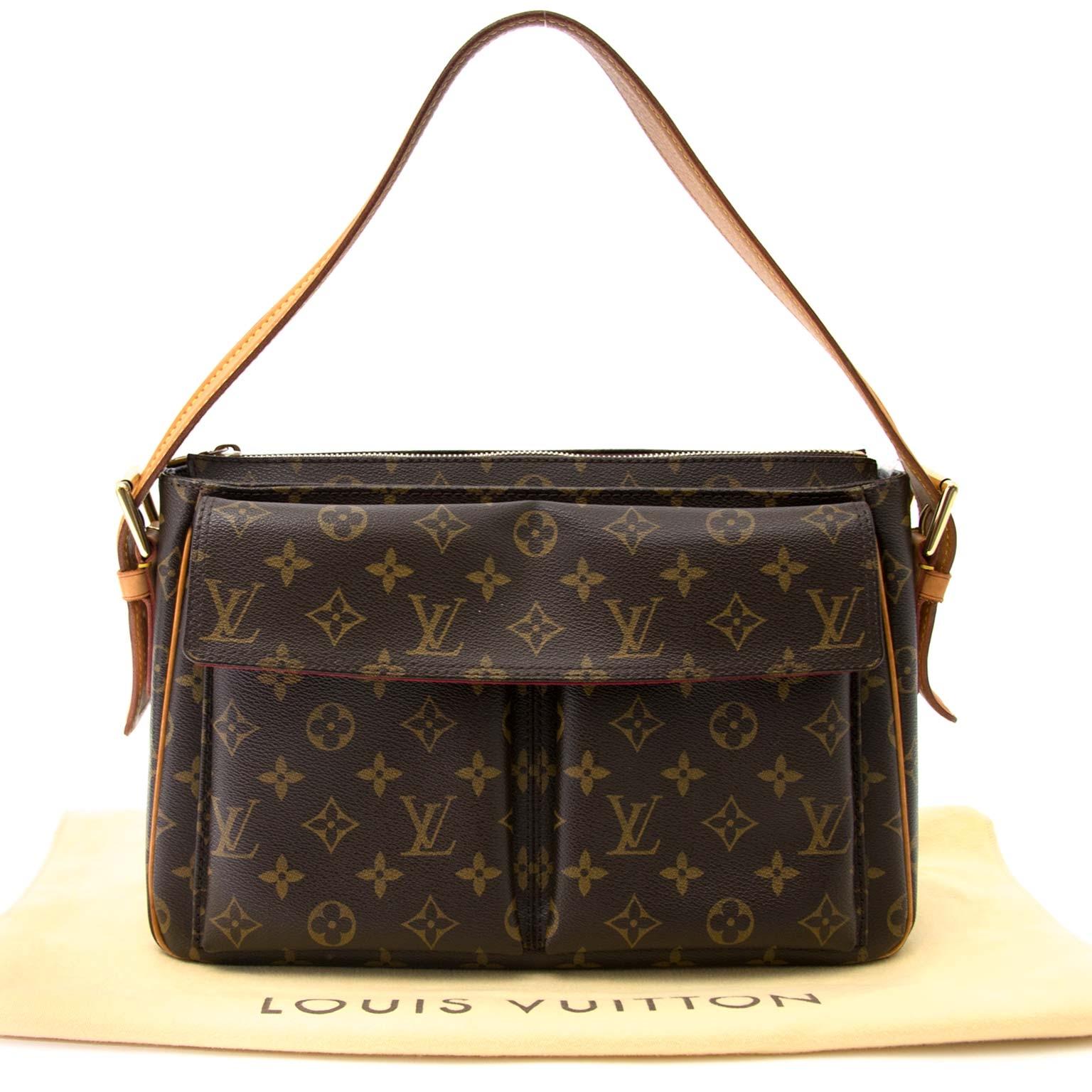 Louis Vuitton Monogram Viva Cite GM Shoulder Bag