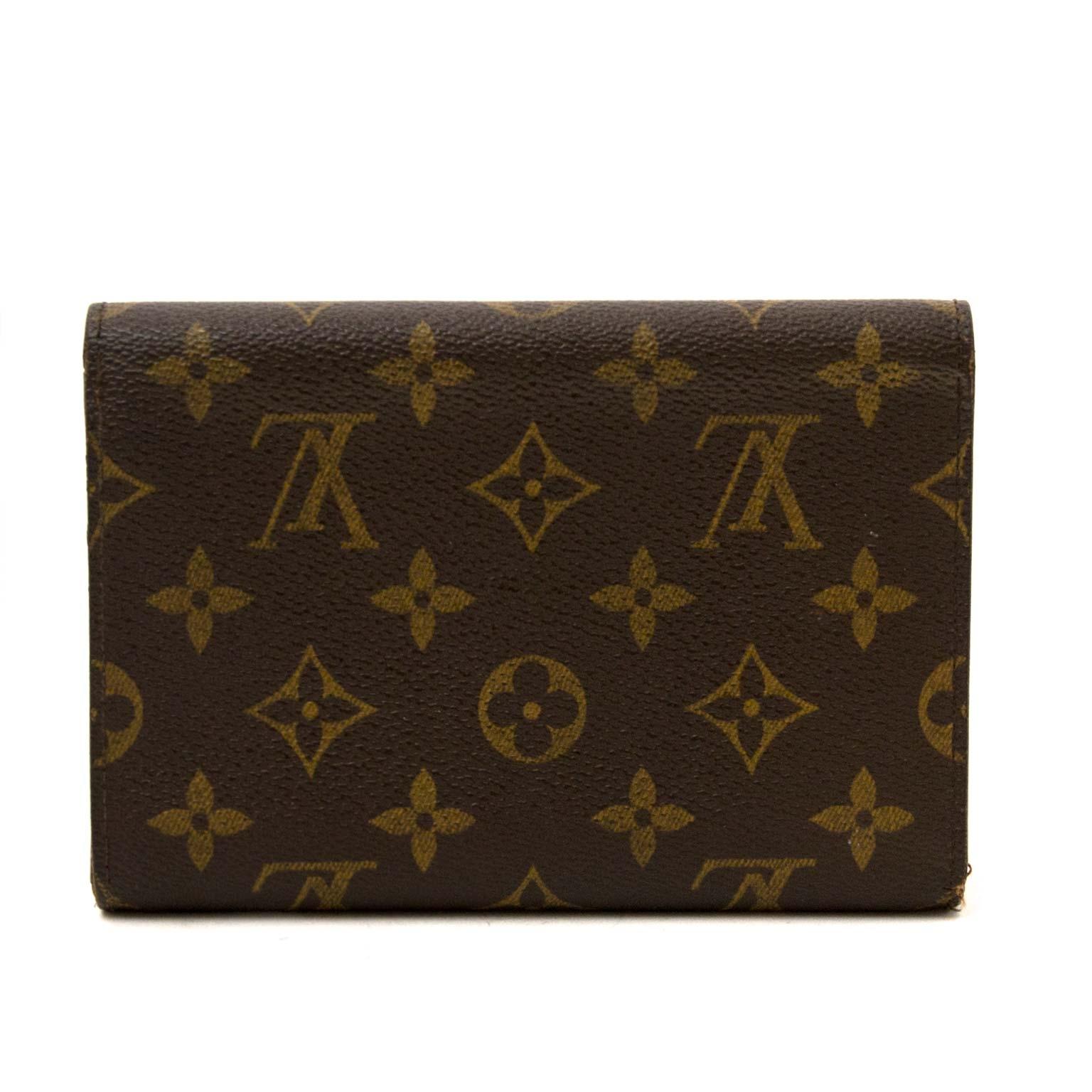 koop authentieke louis vuitton monogram portefeuille nu online bij labellov vintage mode webshop belgië