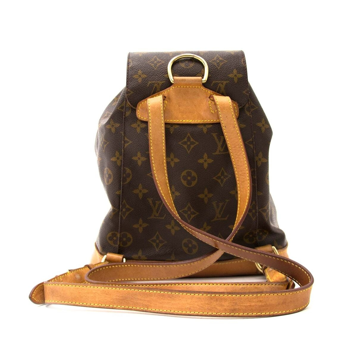 ... Koop authentieke tweedehands Buy an authentic secondhand Louis Vuitton  Monogram Montsouris MM rugzak at the right 4fac558b4e967
