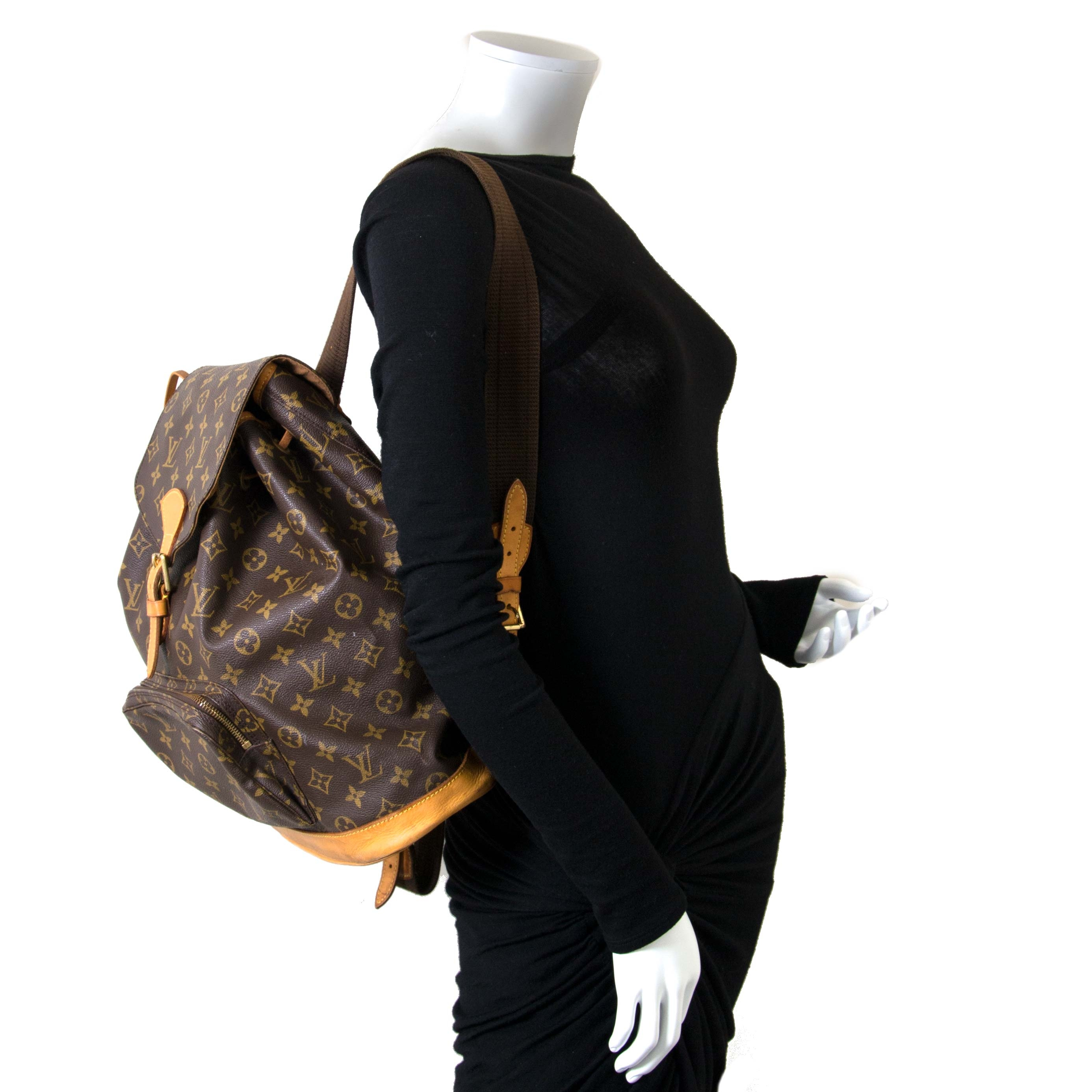 ... Louis Vuitton Montsouris Backpack GM now for sale at labellov vintage  fashion webshop belgium 82c1146f7ecf2