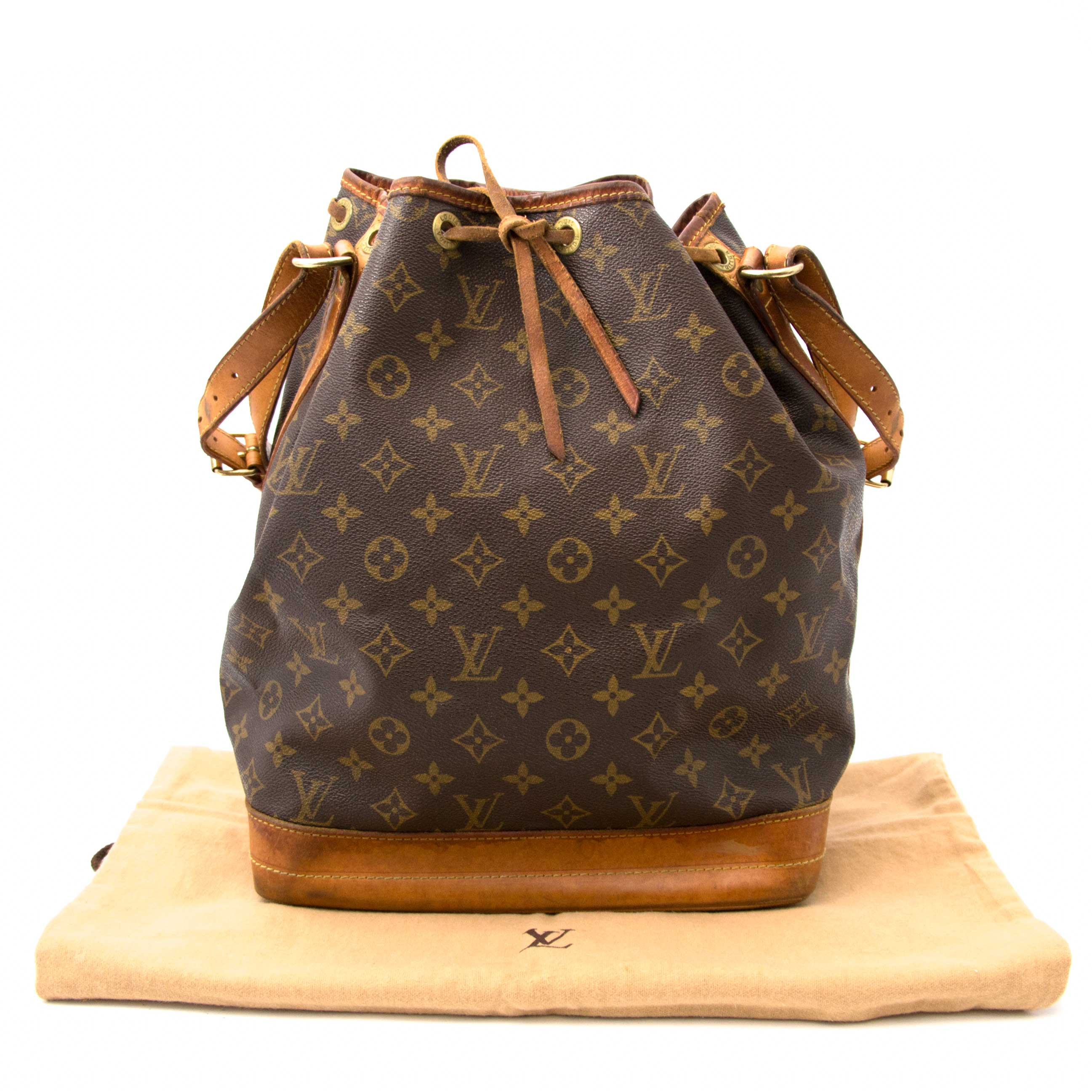 Louis Vuitton Noé BB Monogram Bucket Bag vintage secondhand