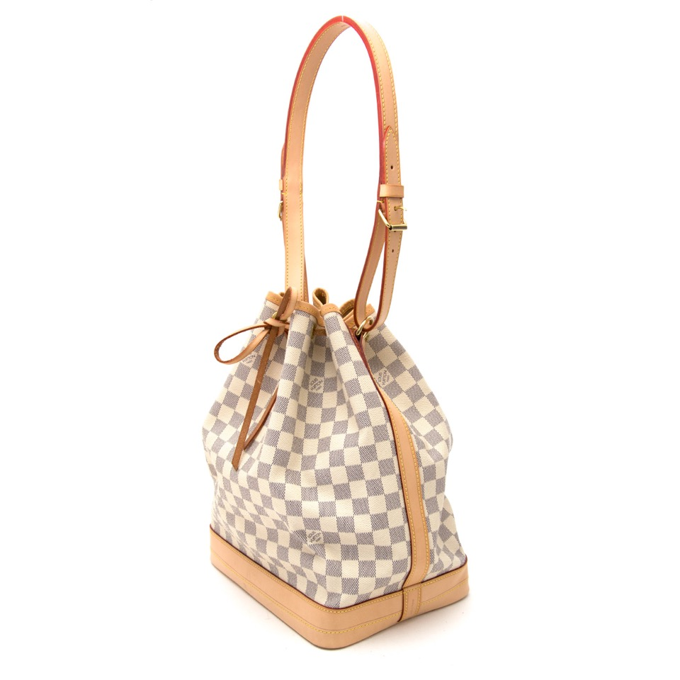 We sell your secondhand Louis Vuitton Noé Damier Azur  for the best price