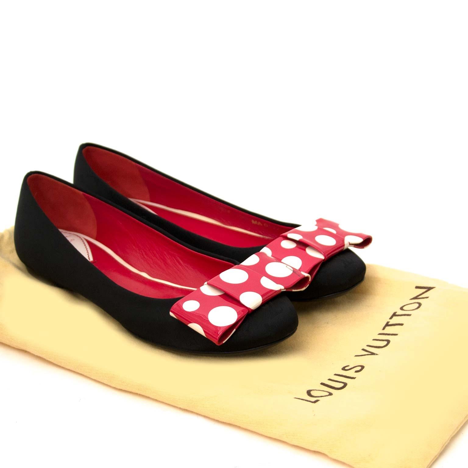 Koop authentieke louis vuitton ballerinas bij labellov vintage mode webshop