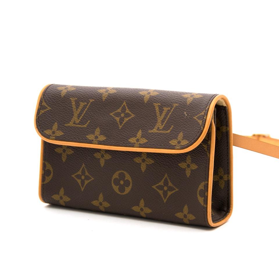 acheter en linge comme neuf sac a amain Louis Vuitton Monogram Pochette Florentine