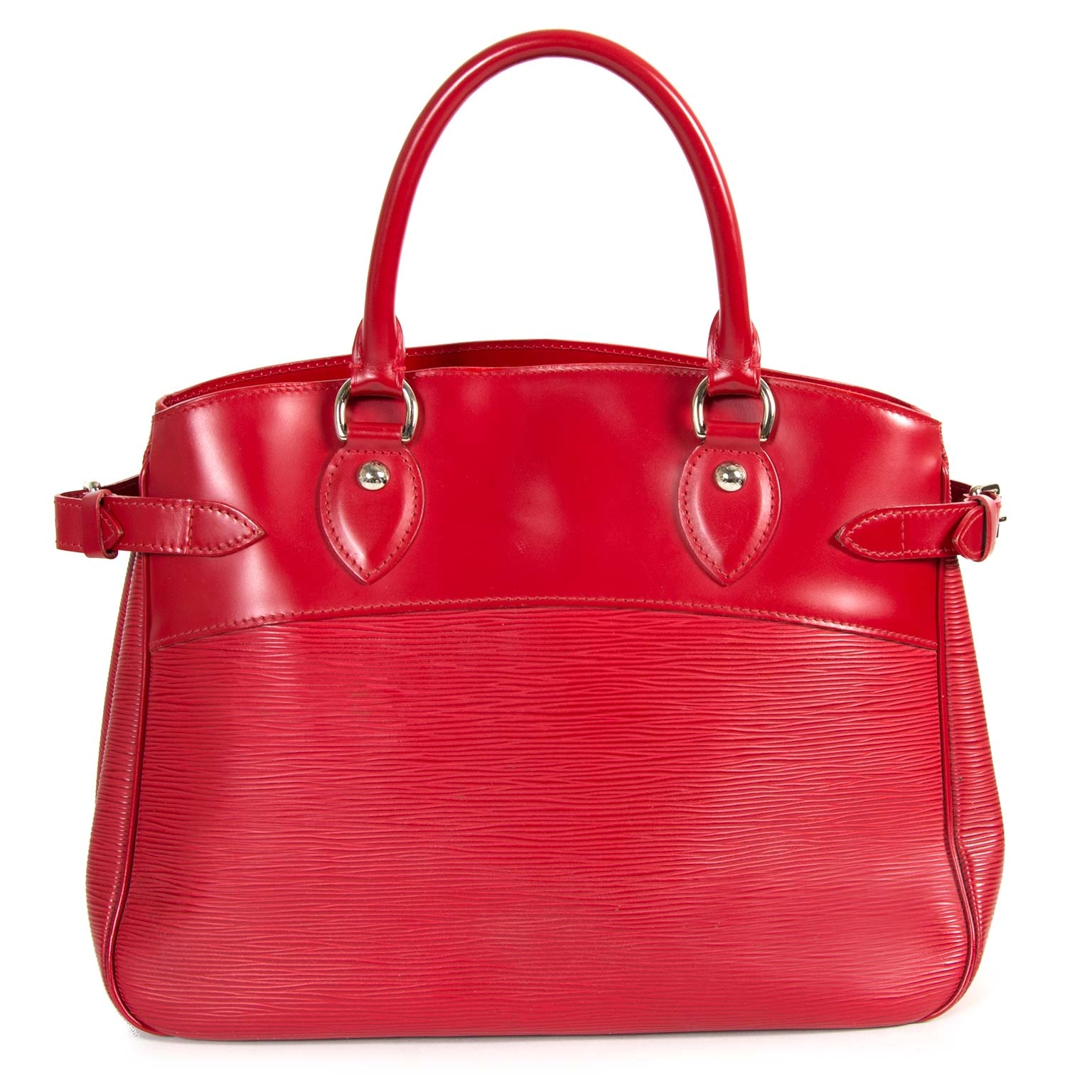 buy Louis Vuitton Passy Red Epi Leather at labellov for the best price