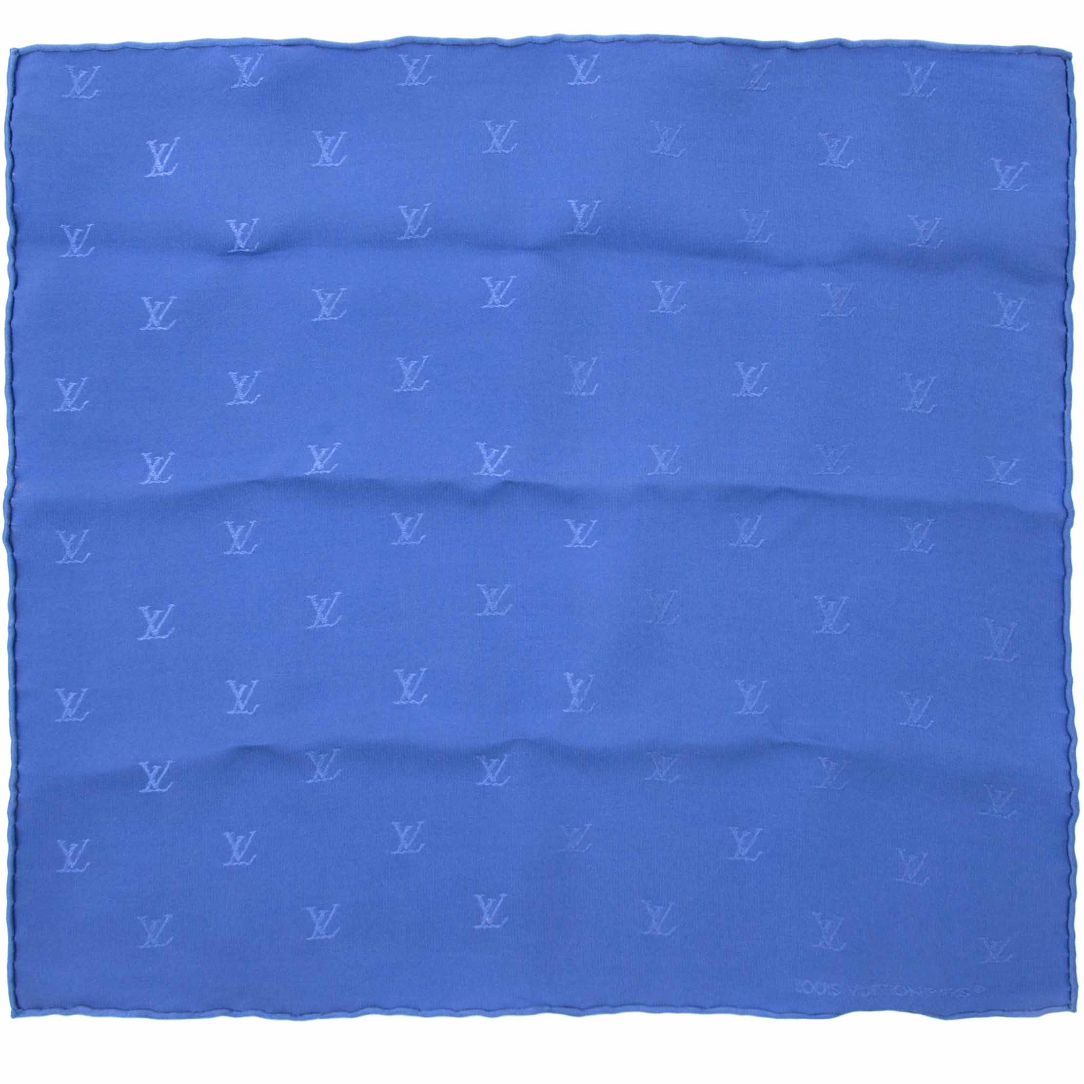 Shop safe online aan de beste prijs Louis Vuitton Silk Pocket Monogram Square Set
