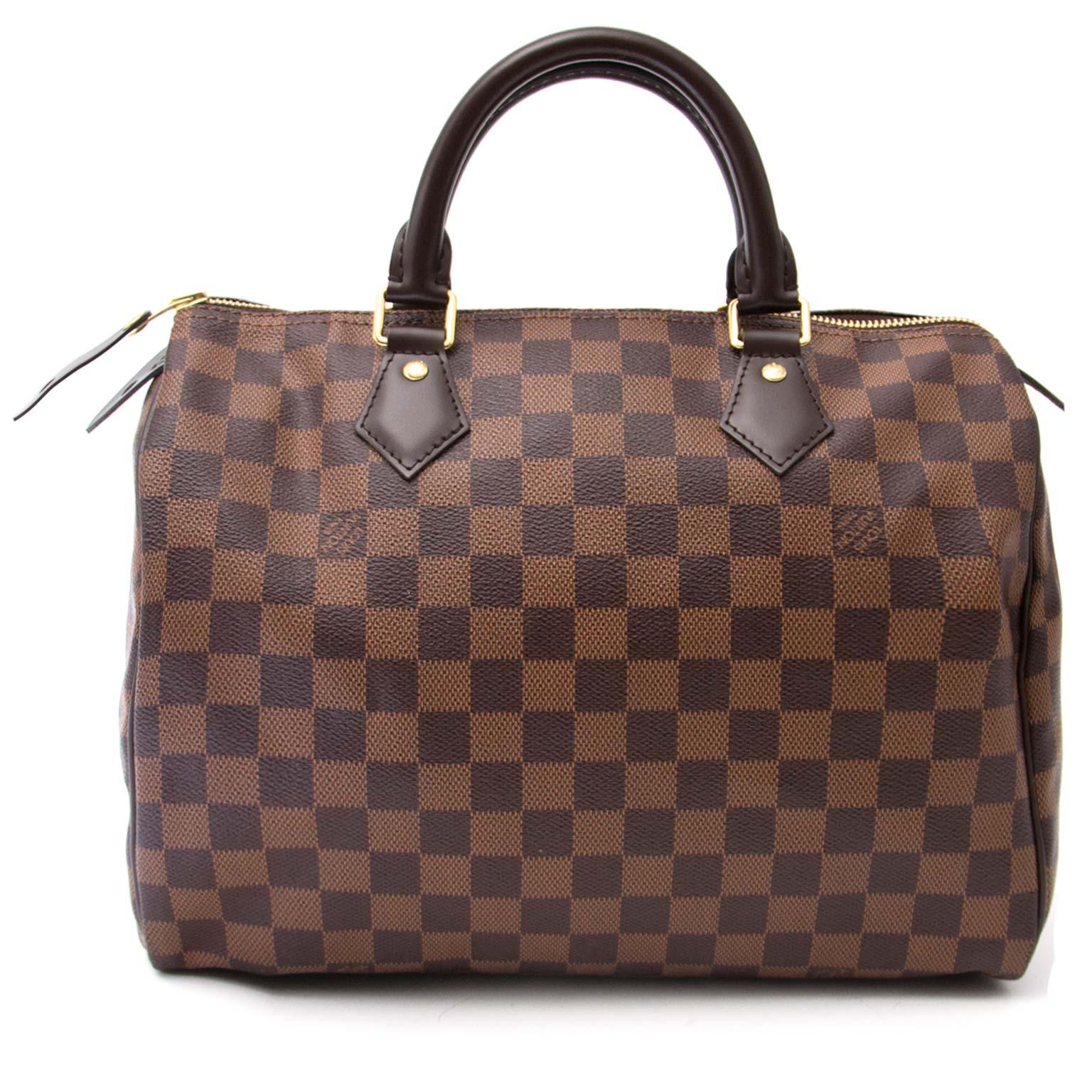 ... the best price online Koop en verkoop uw authentieke Louis Vuitton  Speedy 30 Damier Ebene fbdbae6dbf6