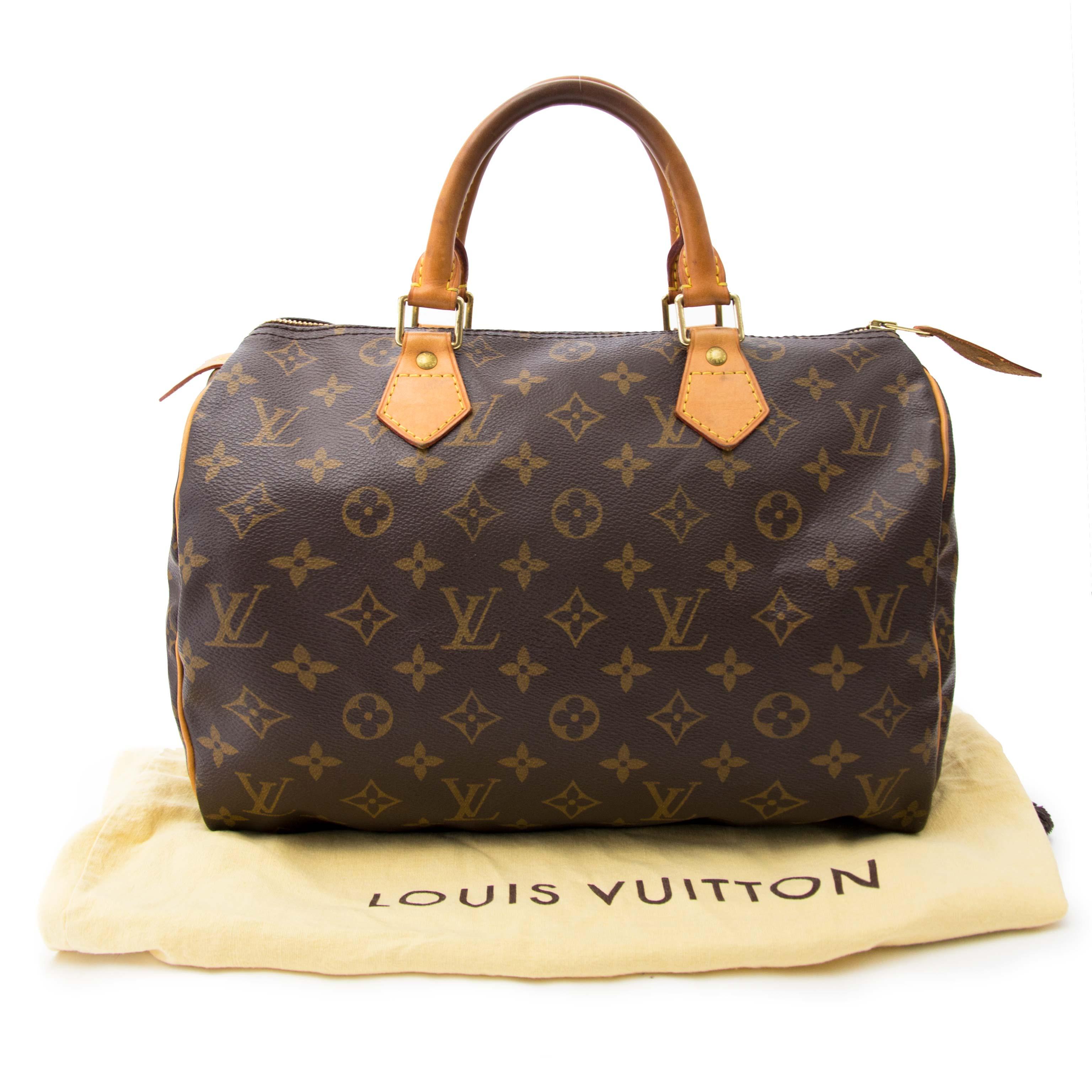 comme neuf sac a main Louis Vuitton Speedy 30