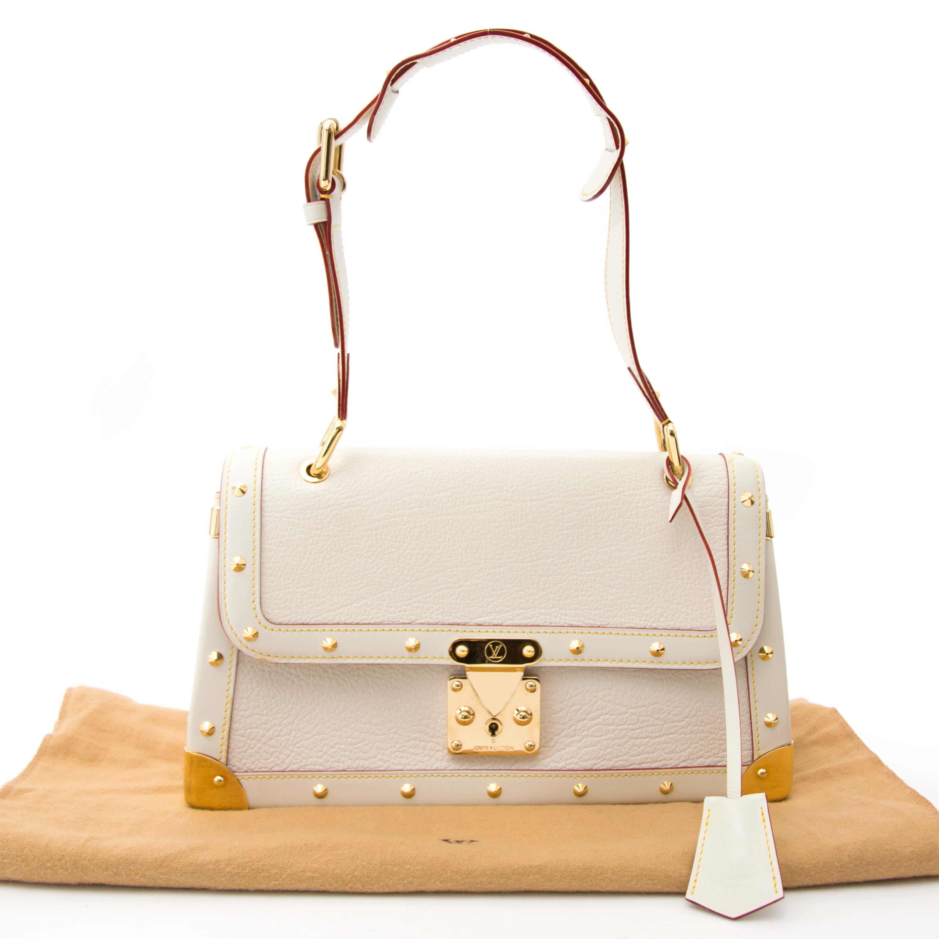 acheter en ligne pour le meilleur prix Louis Vuitton Suhali Le Talentueux White