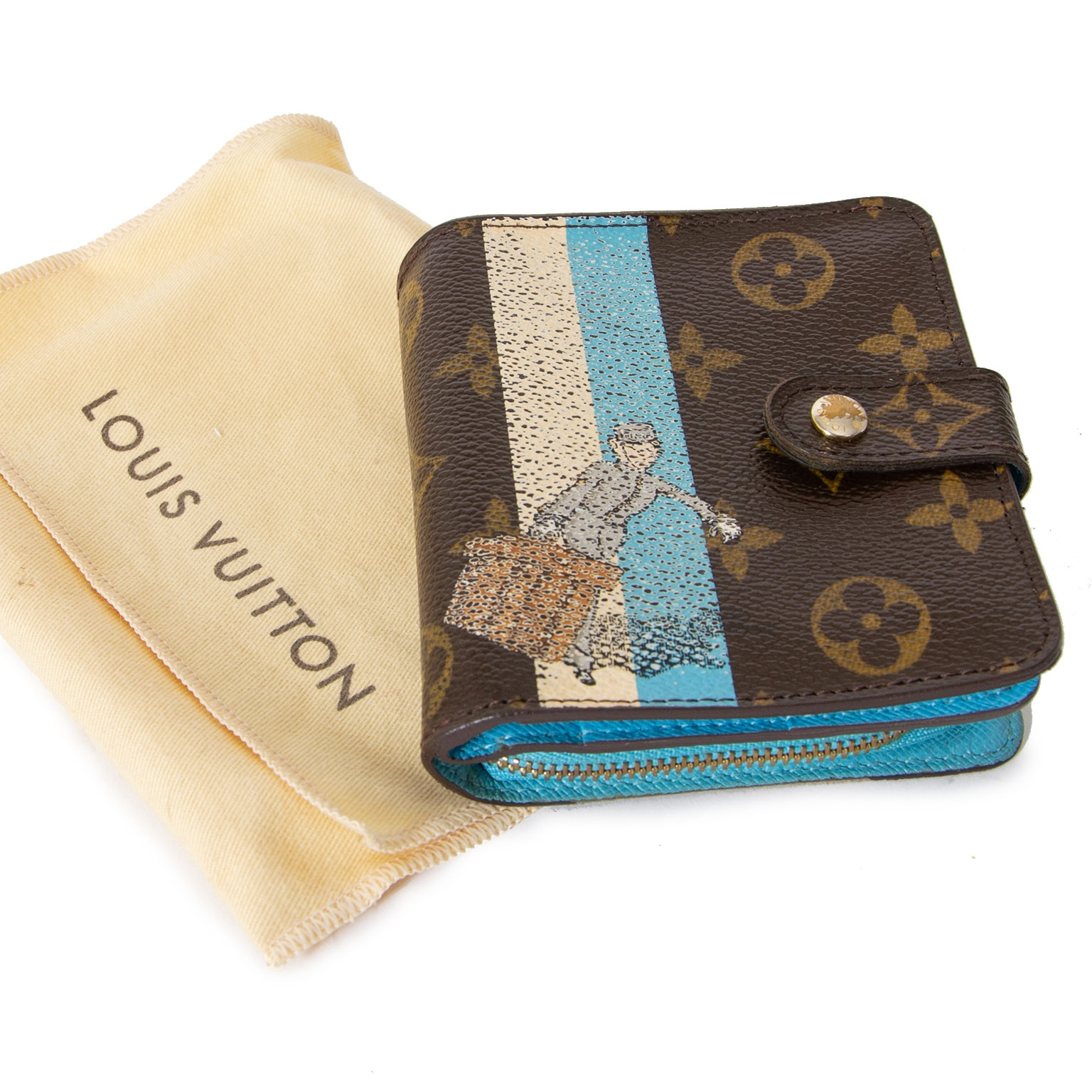 louis vuitton monogram tintin bellboy grooms wallet now for sale at labellov vintage fashion webshop belgium