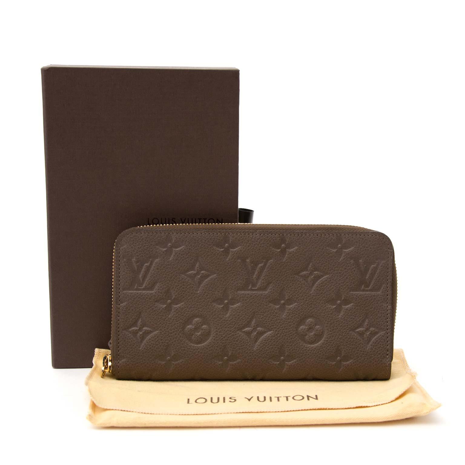 Koop uw authentieke Louis Vuitton Zippy Empreinte Wallet aan de beste prijs